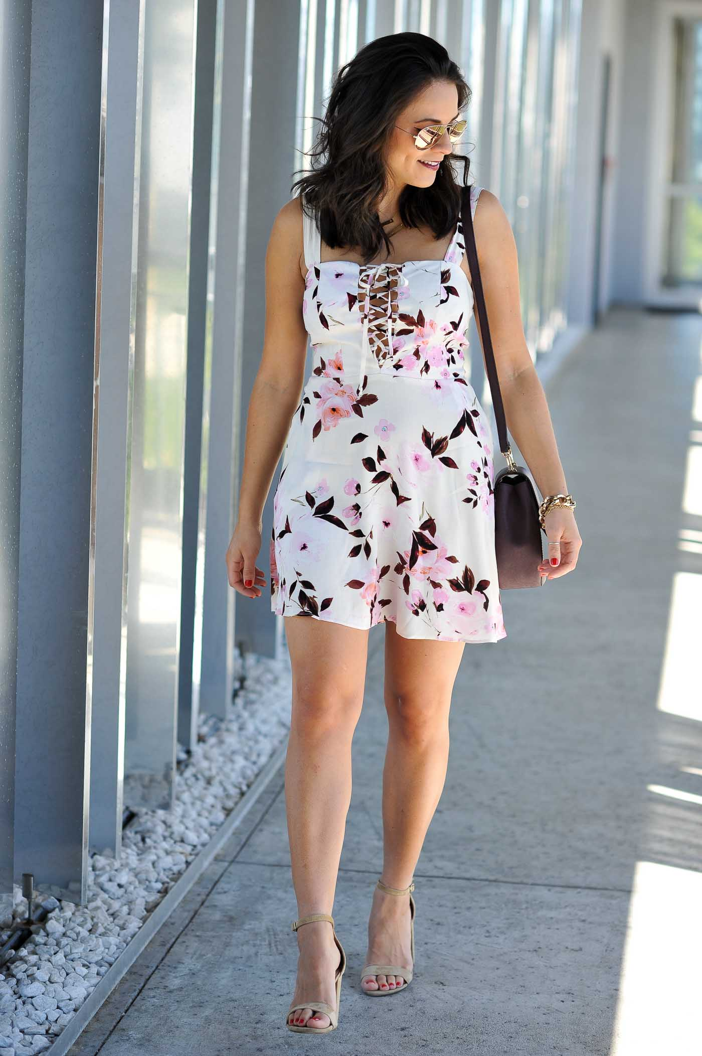 affordable floral dresses for summer - My Style Vita @mystylevita