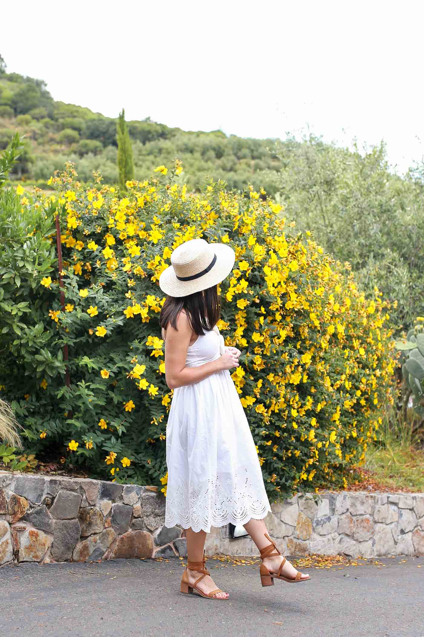 Wine Country Outfit Idea | Wine Country Packing List
