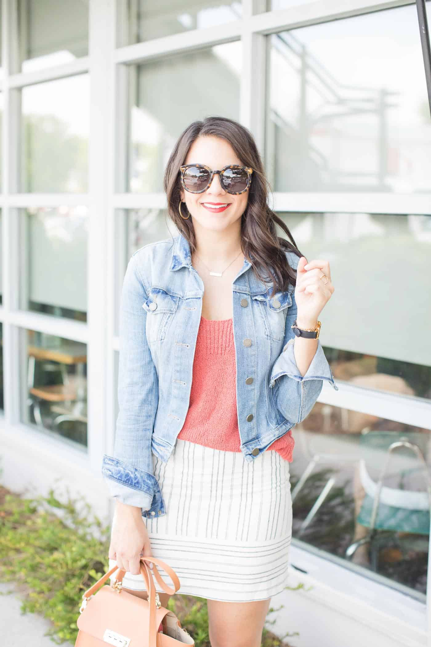 Mini skirt ideas, how to style a mini skirt for summer - My Style Vita @mystylevita