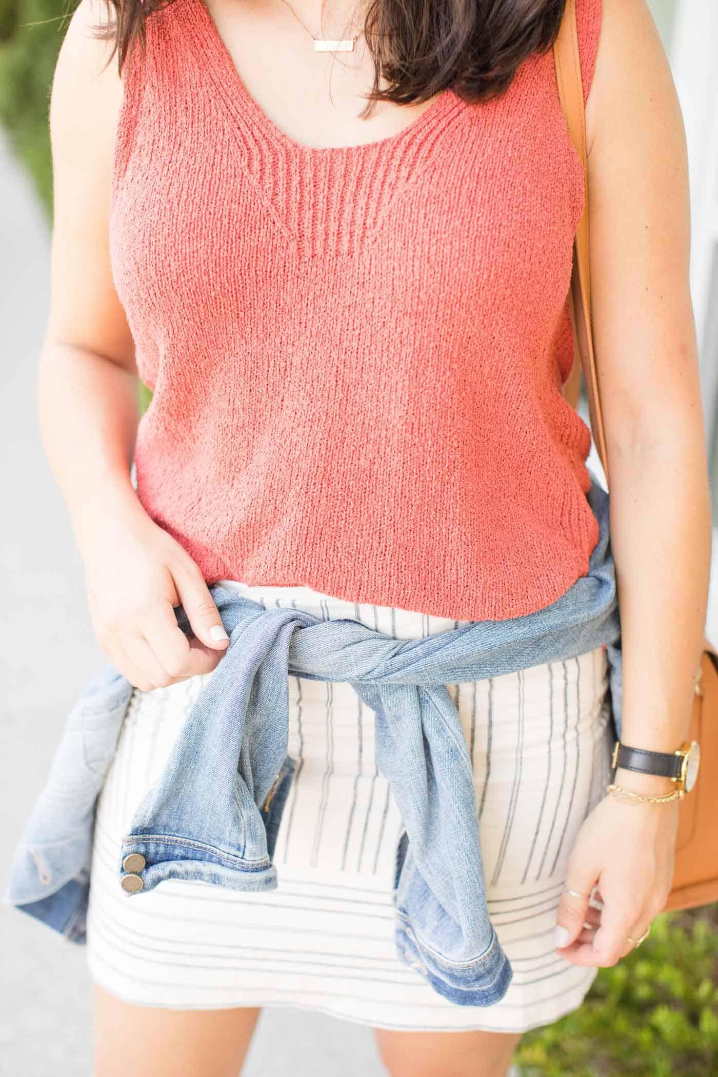 Mini skirt ideas, how to style a mini skirt for summer - My Style Vita @mystylevita