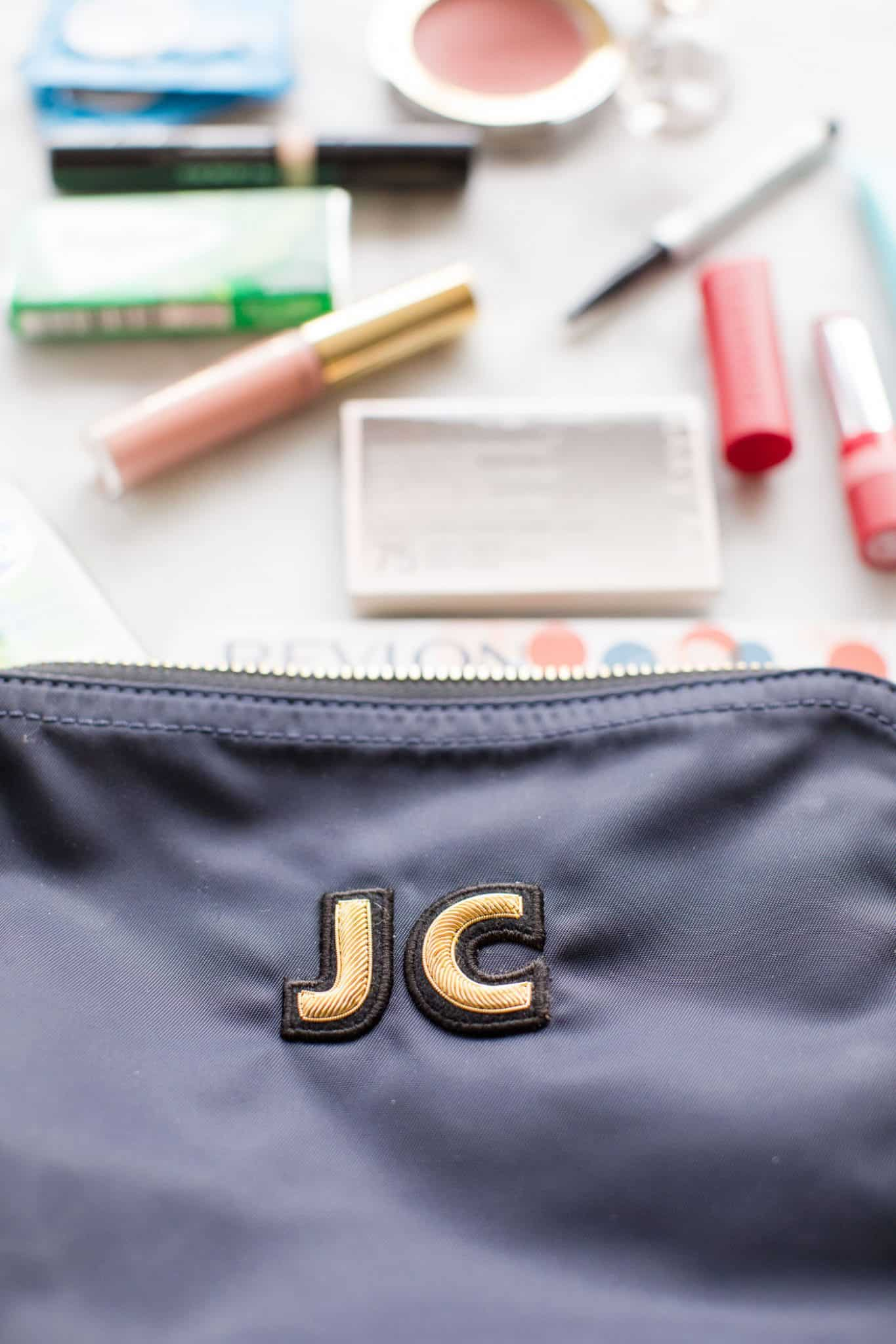 How to Pack The Most Reliable Makeup Bag For Your Purse, cute makeup bags - My Style Vita @mystylevita