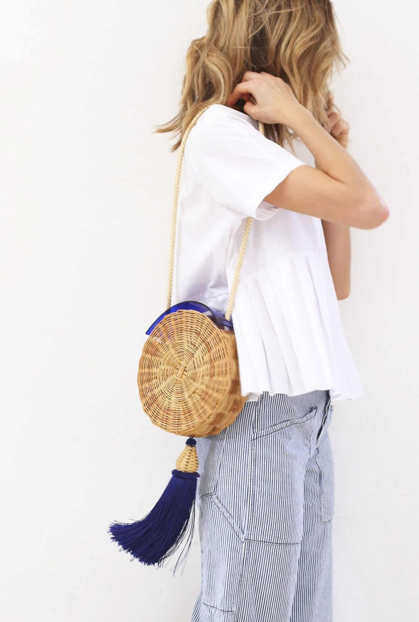 woven bags for summer, summer bags