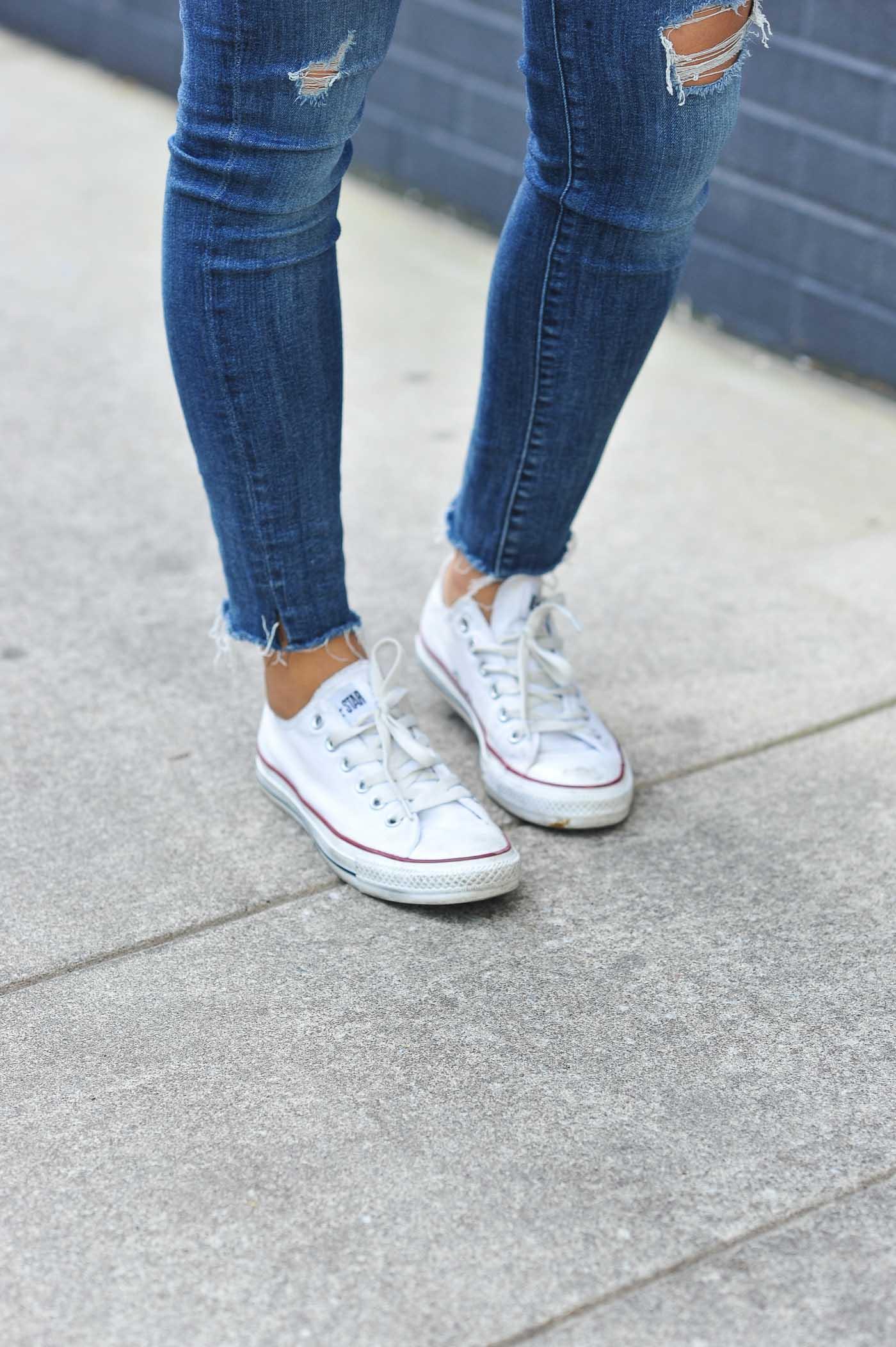converse, denim and chucks - My Style Vita @mystylevita