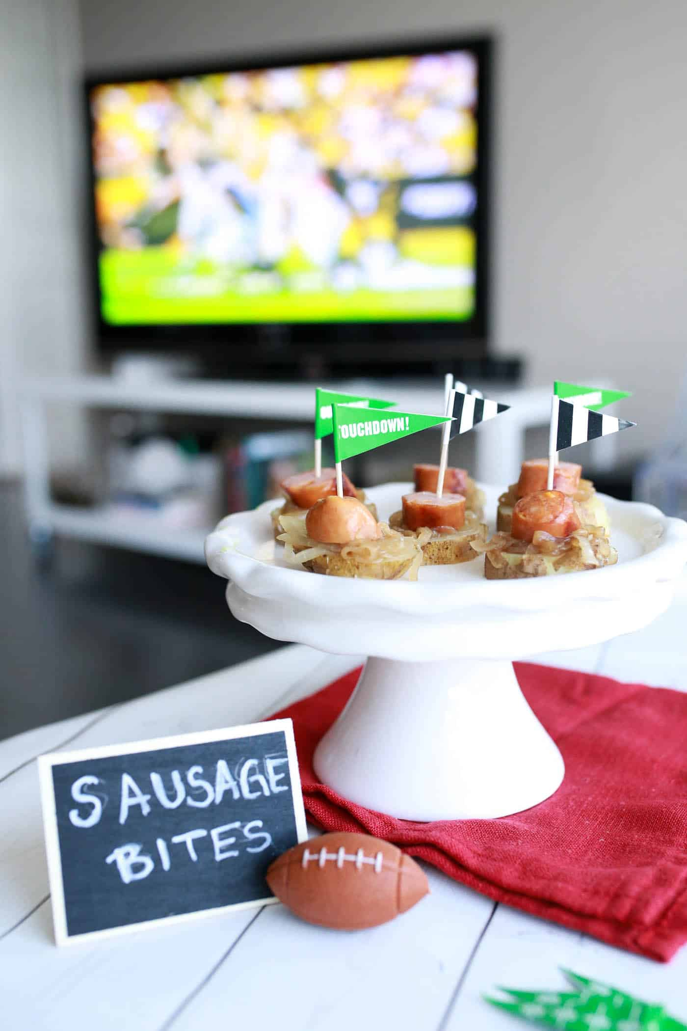 sausage bites, appetizer ideas, holiday appetizers, easy recipes for tailgating - My Style Vita