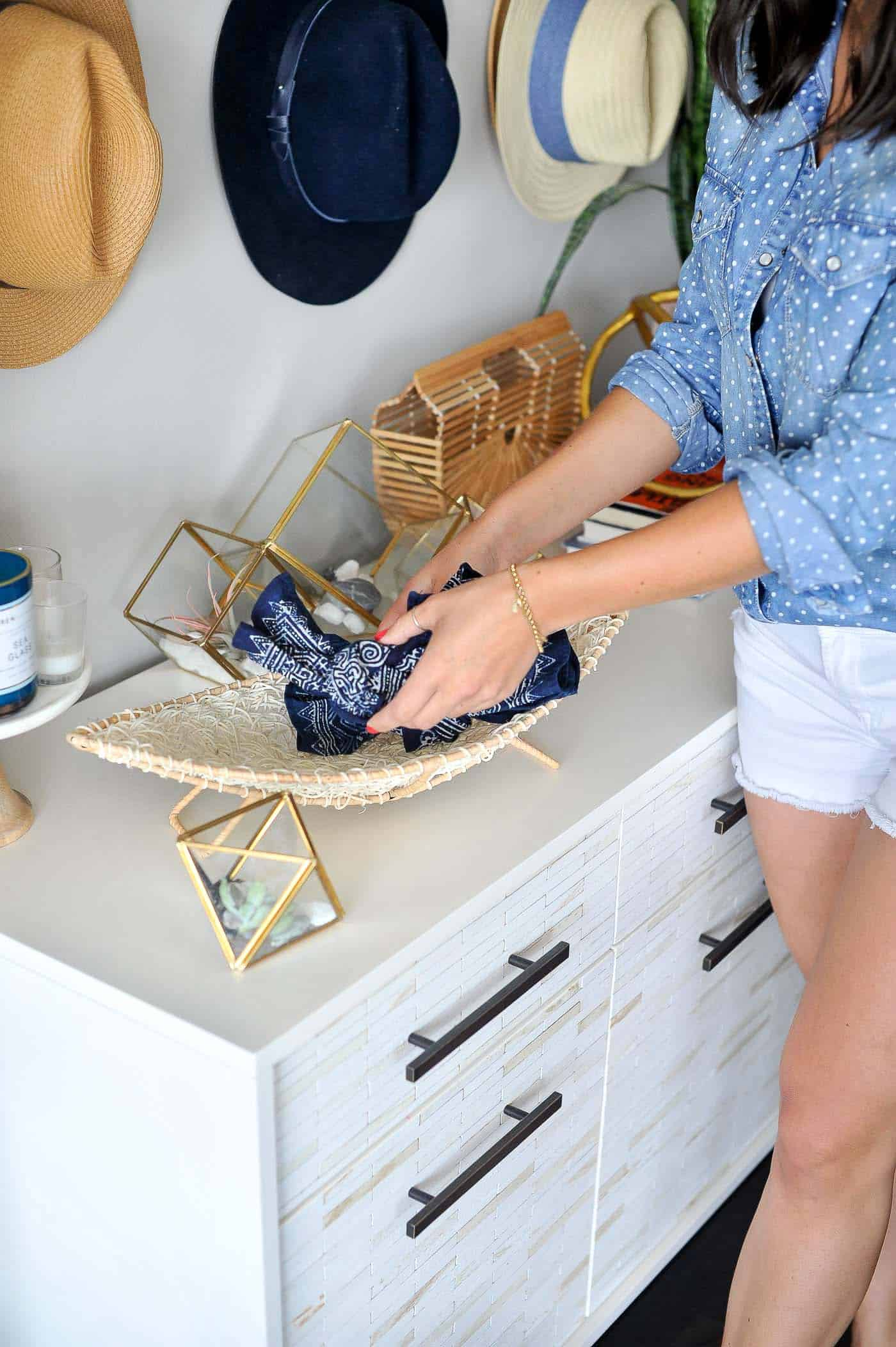styling a buffet, ideas on things to collect while traveling - My Style Vita @mystylevita