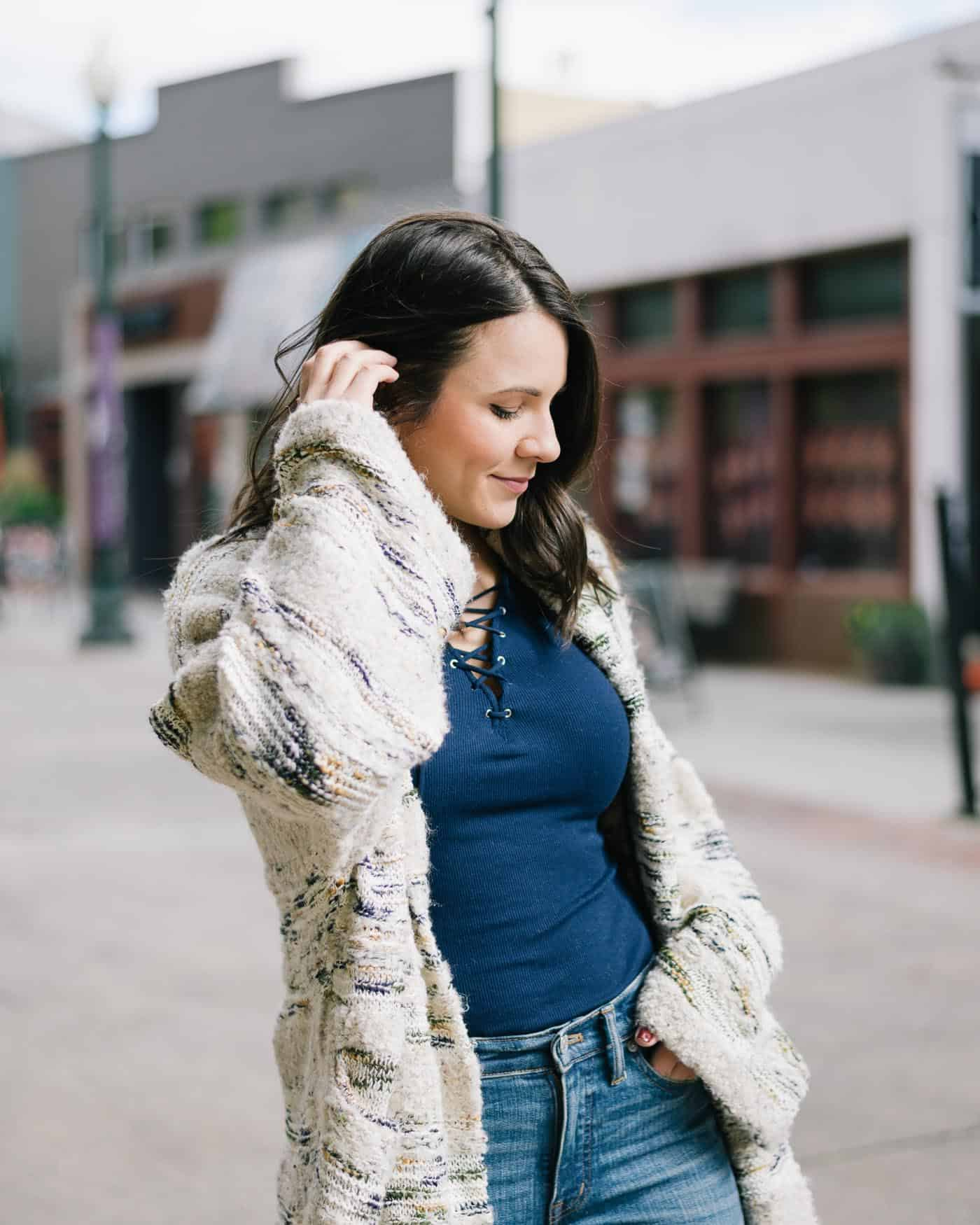 anthropologie cardigan, fall outfit ideas, things to do in Asheville - My Style Vita @mystylevita