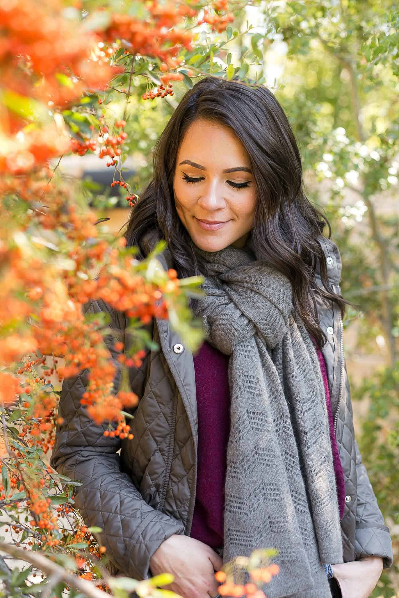 4 ways to tie a scarf, how to wear a blanket scarf - My Style Vita @mystylevita
