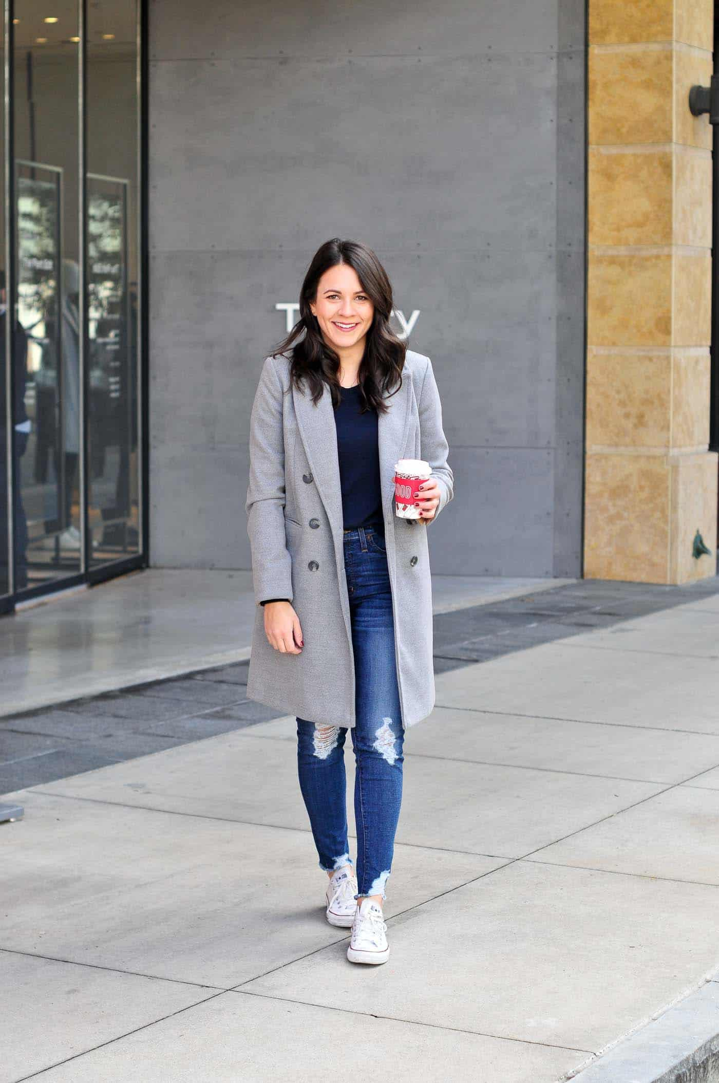 0dfb69350ba What To Wear With Your Grey Coat This Winter - My Style Vita