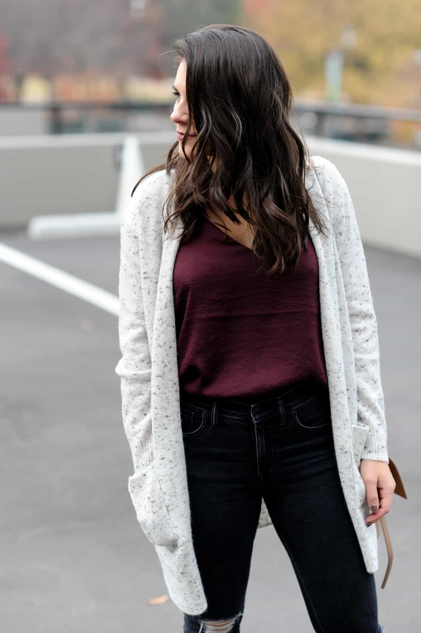 perfect lazy cardigan outfits women