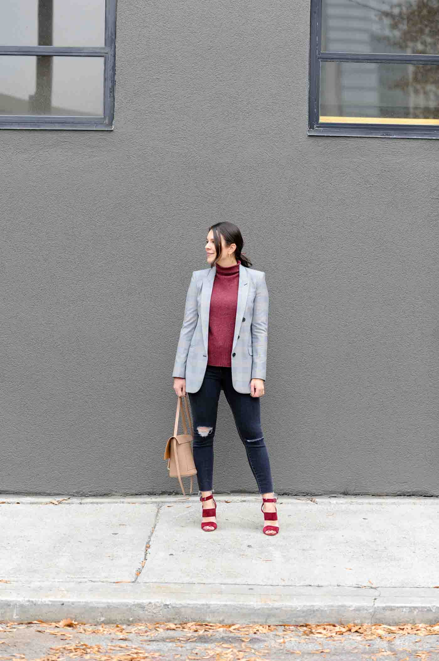 boyfriend blazer outfits, business casual outfits - My Style Vita @mystylevita