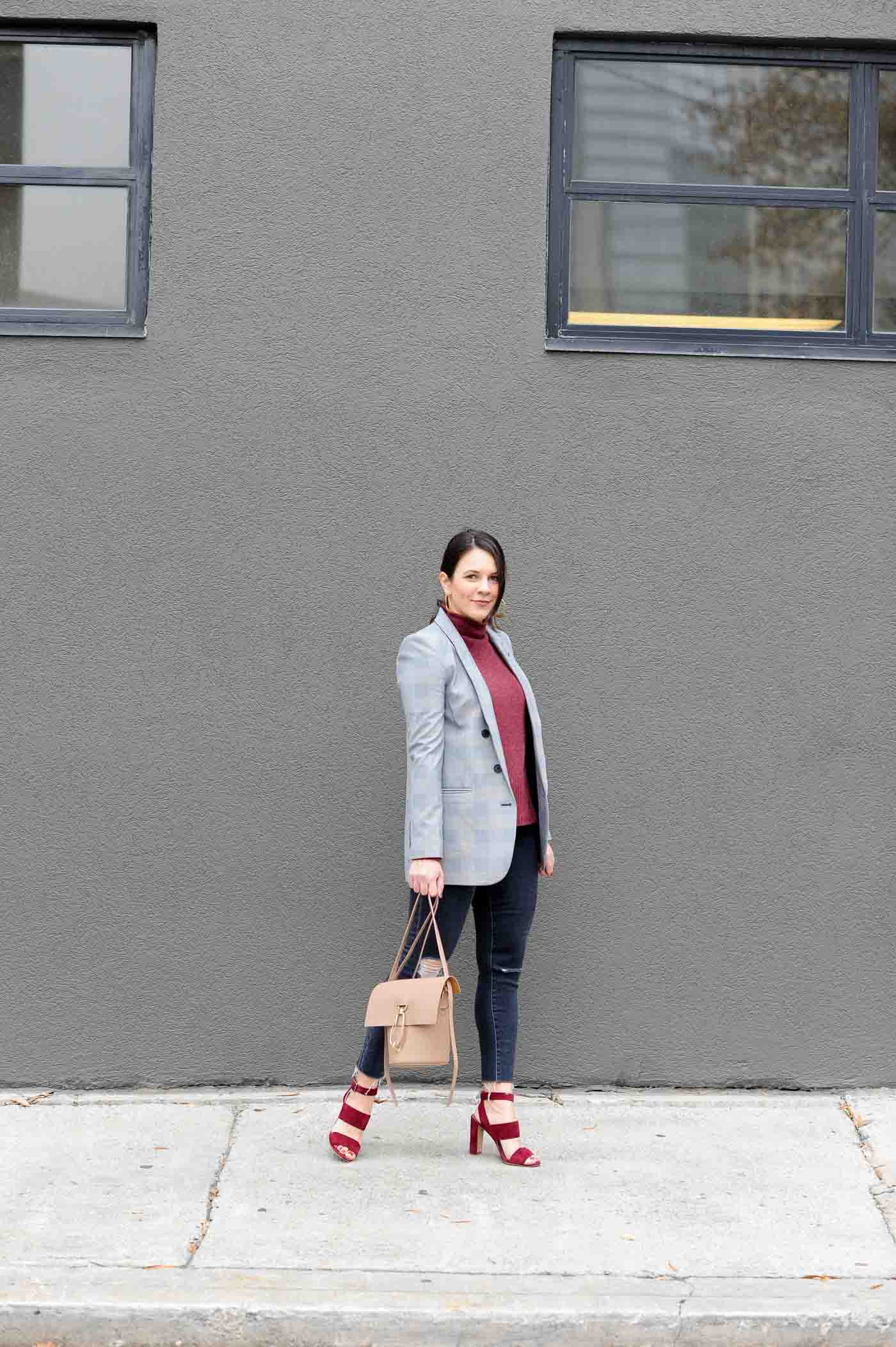 boyfriend blazer outfits, business casual outfits, street style - My Style Vita @mystylevita