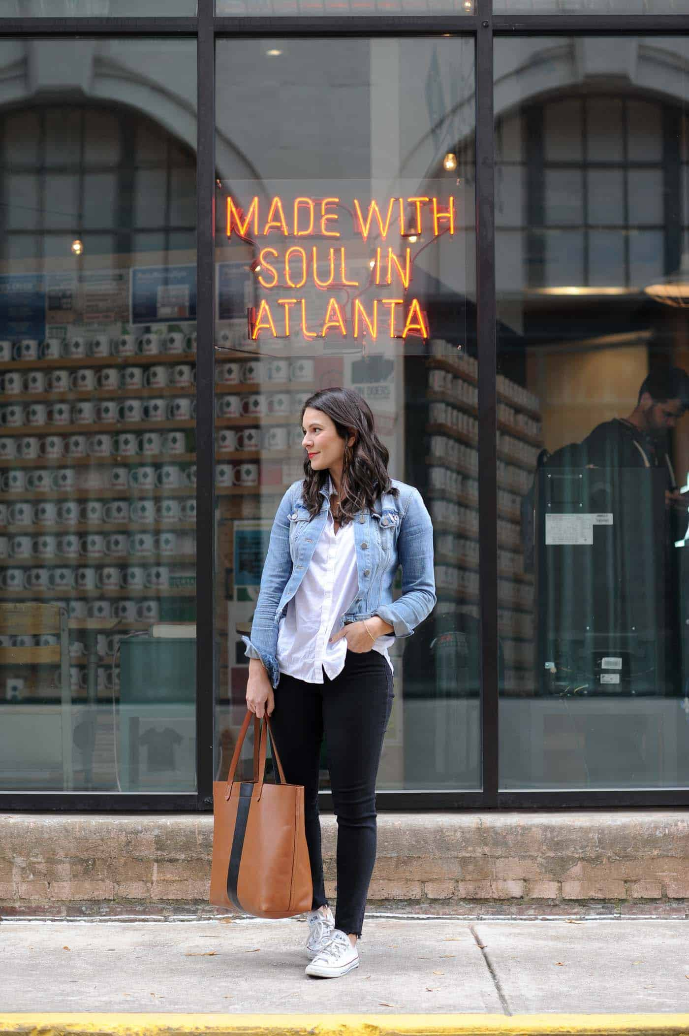 Made With Soul In Atlanta, casual weekend outfit - My Style Vita @mystylevita