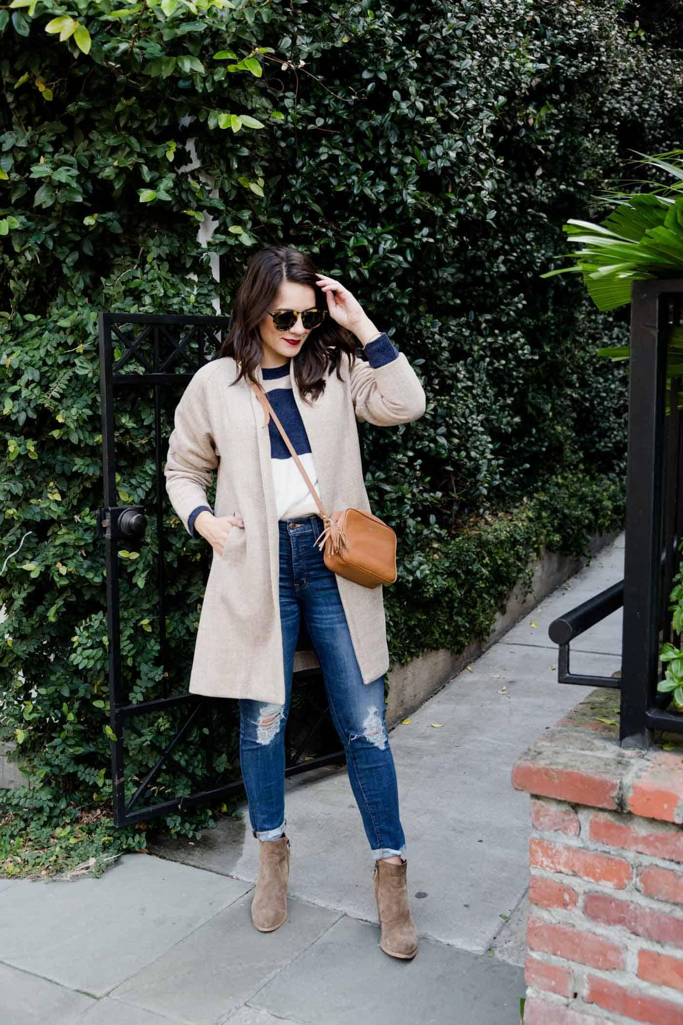 lightweight coats for spring, Madewell Stanza coat - My Style Vita @mystylevita