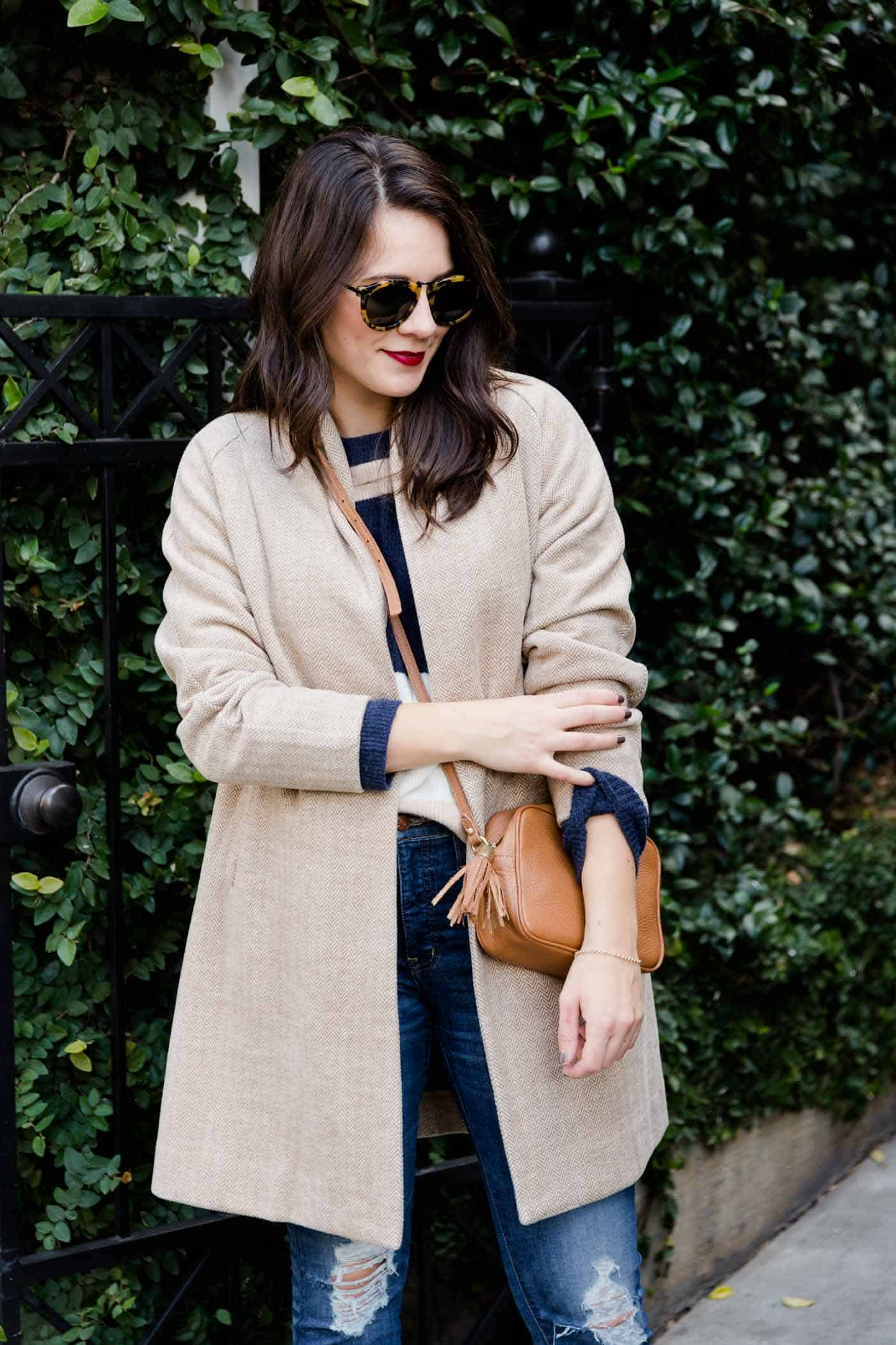 lightweight coats for spring, Madewell Stanza coat - My Style Vita @mystylevita