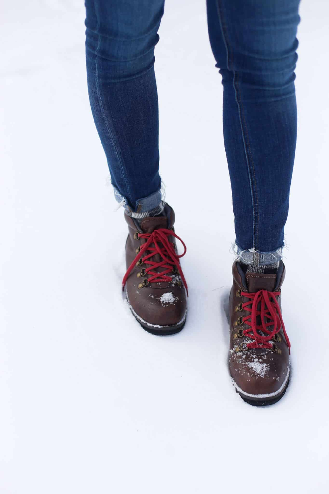 winter boots, eastland boots, boots and jeans for winter - My Style Vita @mystylevita