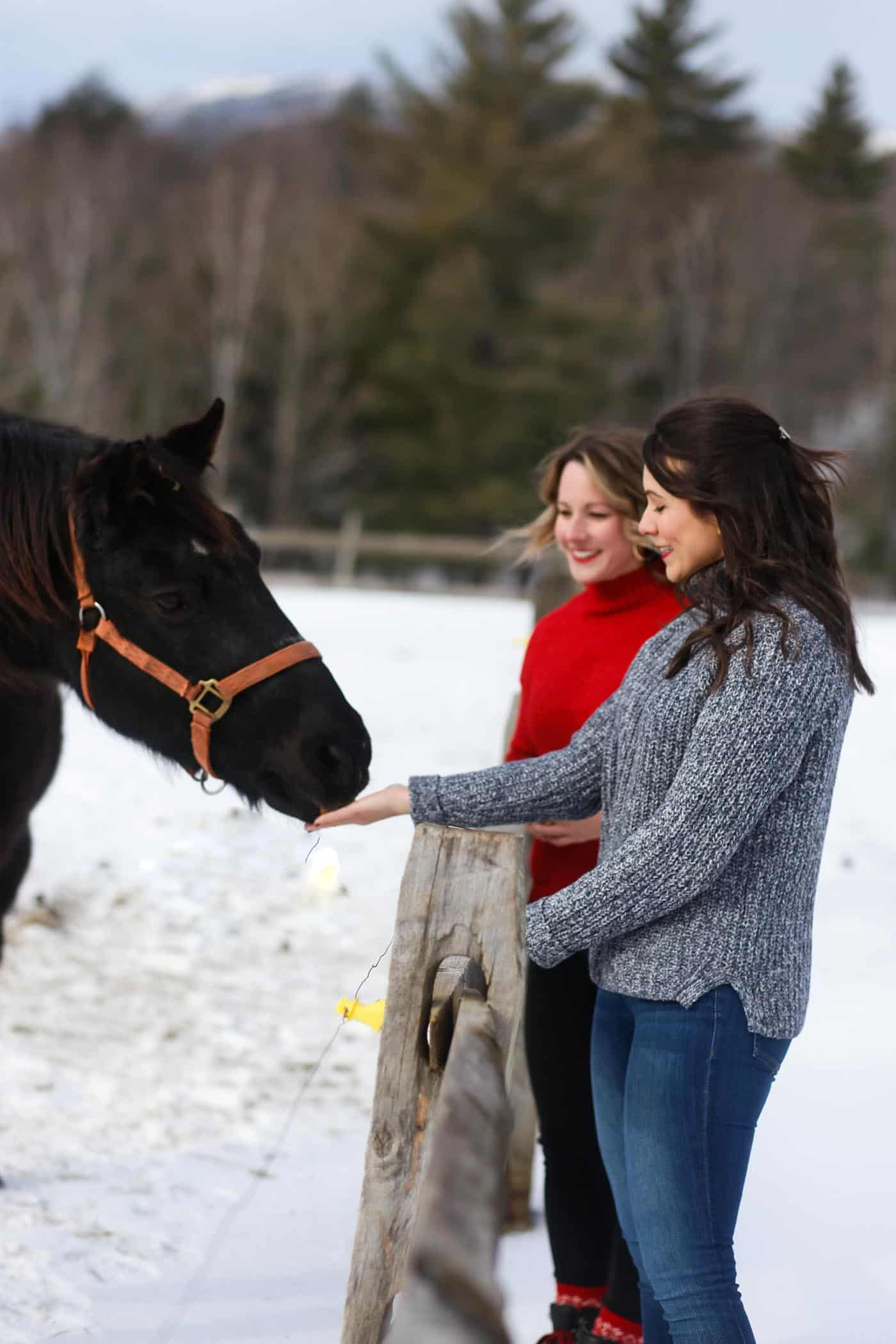 winter style, winter wonderland, things to do in Stowe Vermont - My Style Vita @mystylevita