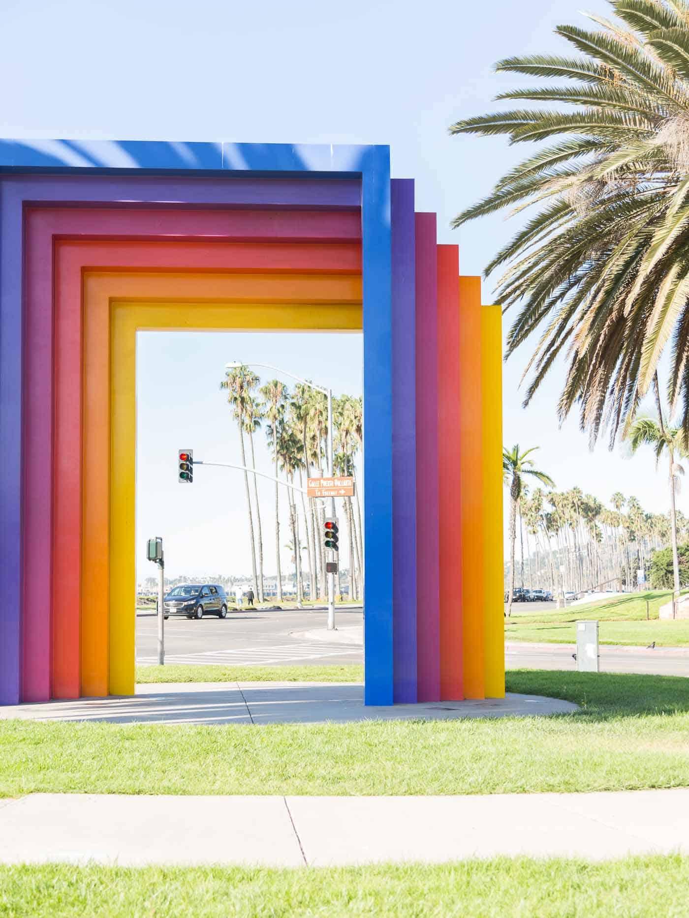 Chromatic Gates, Santa Barbara, Rainbow Gates in California, travel guide - My Style Vita @mystylevita