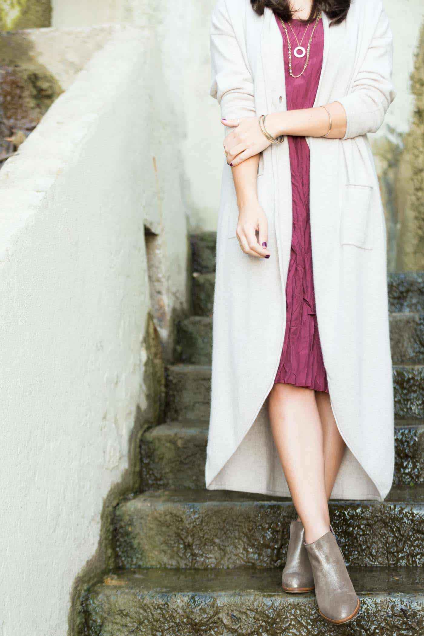 long cashmere cardigan, luxury beach fashion - My Style Vita @mystylevita