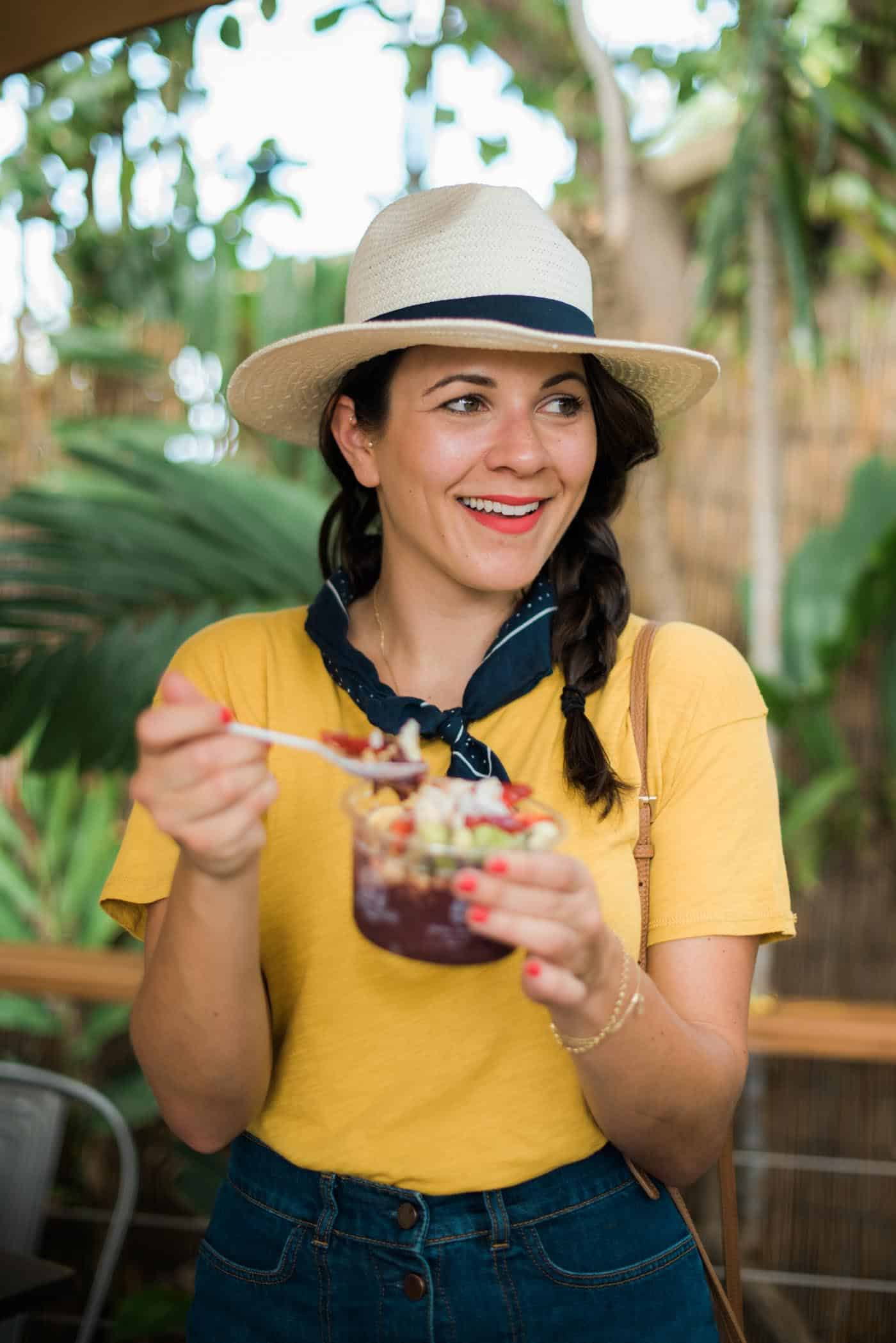 best acai bowl in Maui, where to eat in Maui - My Style Vita