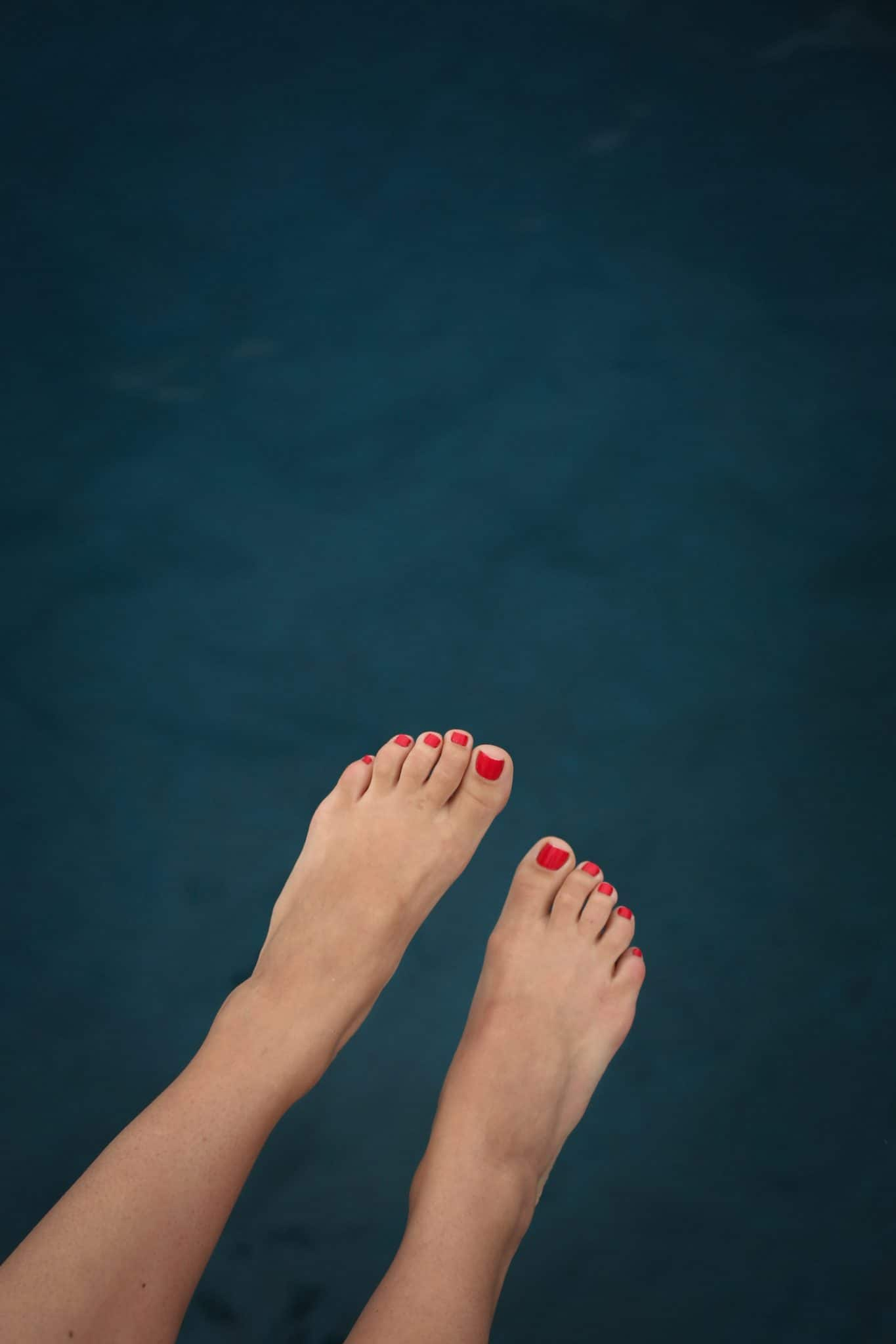 feet in the water, ocean, cute photo at the beach - My Style Vita