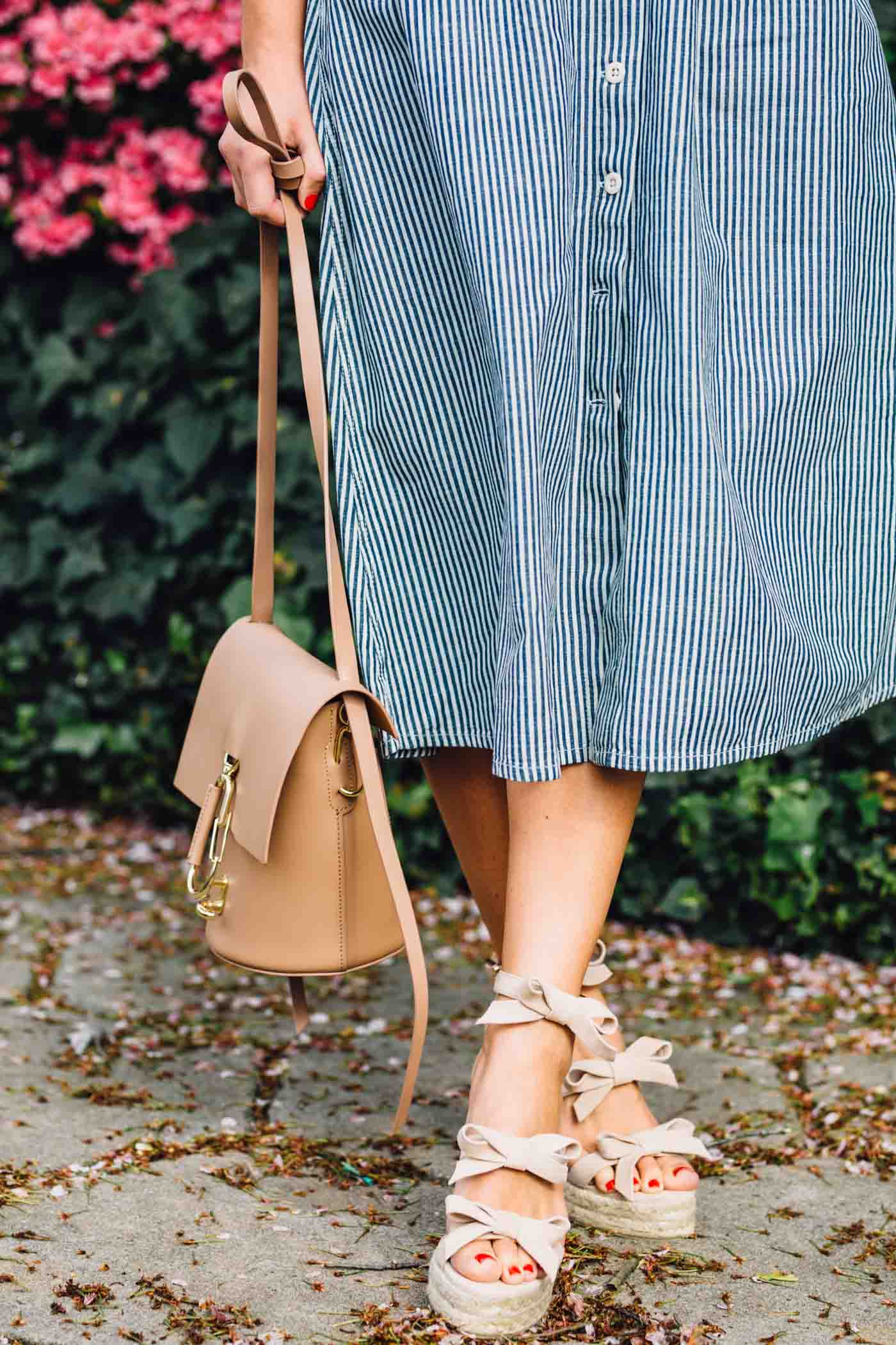 bow wedges, bow espadrilles, spring outfit ideas - My Style Vita