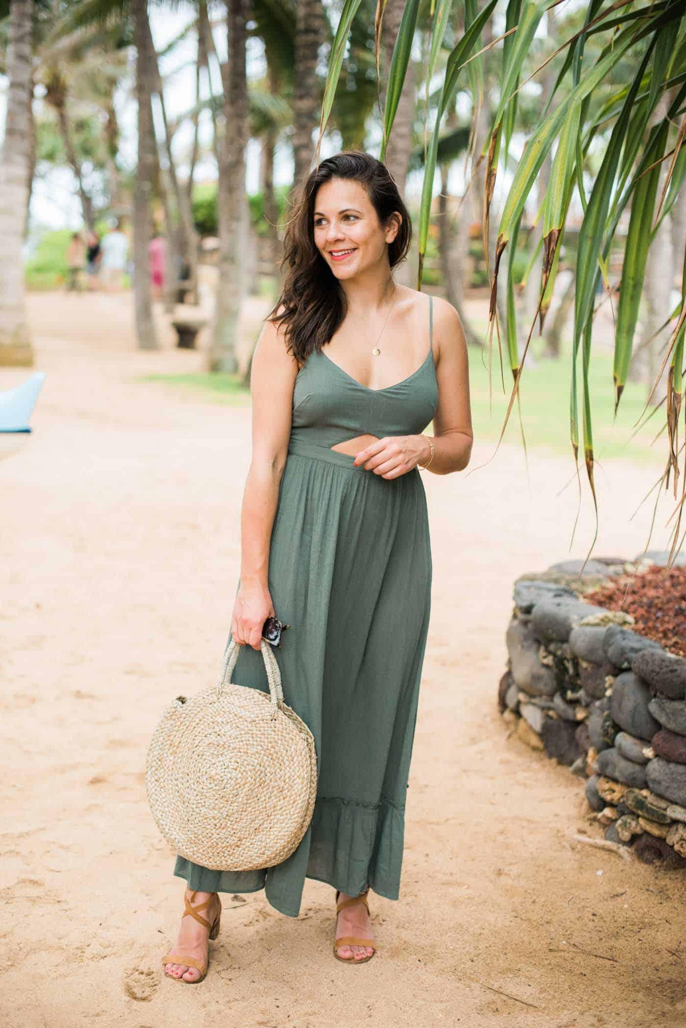 summer dress, aerie maxi dress, affordable beach dresses beach style - My Style Vita -25