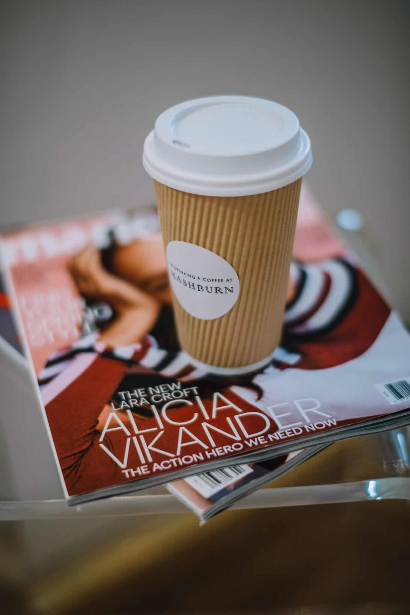 coffee and magazines - My Style Vita