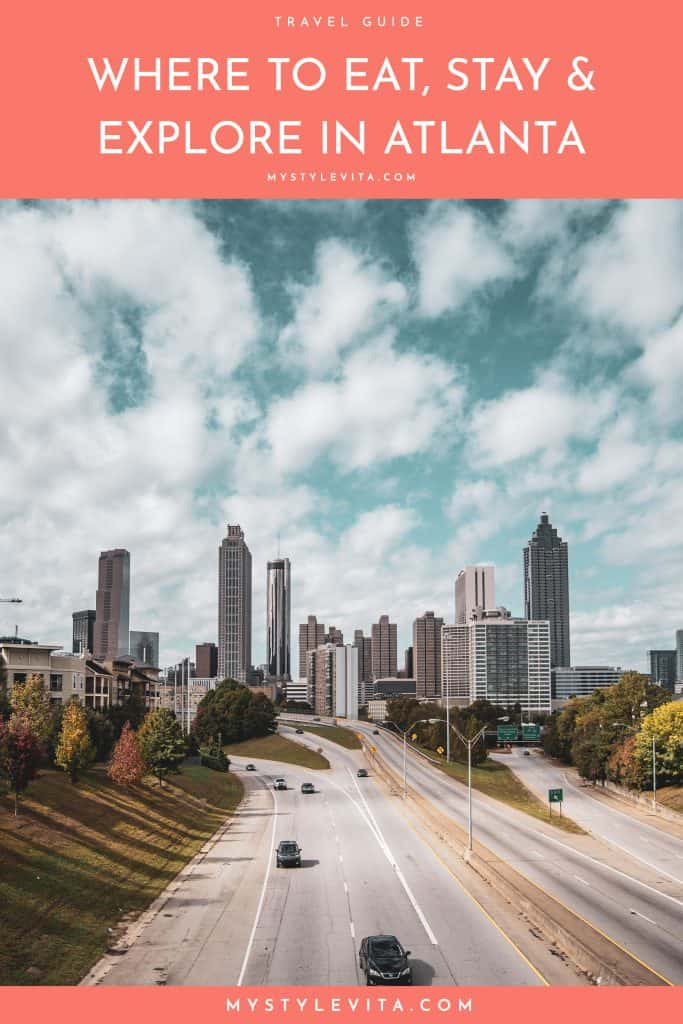 Best Atlanta Restaurants, Atlanta skyline