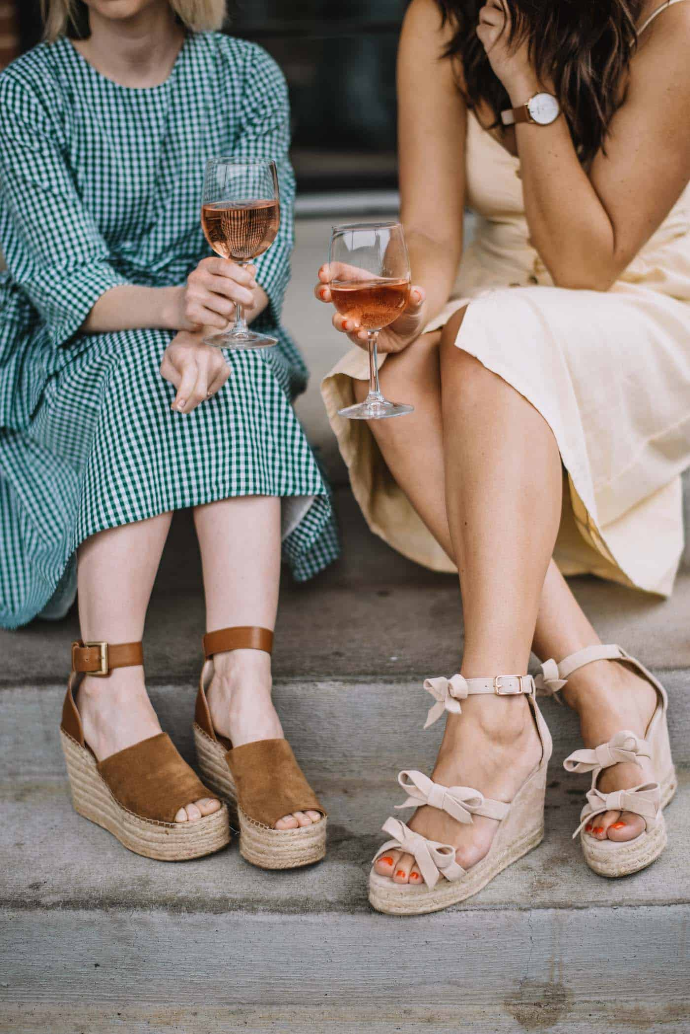 wine and cheese night ideas, wine with friends in the summer - My Style Vita