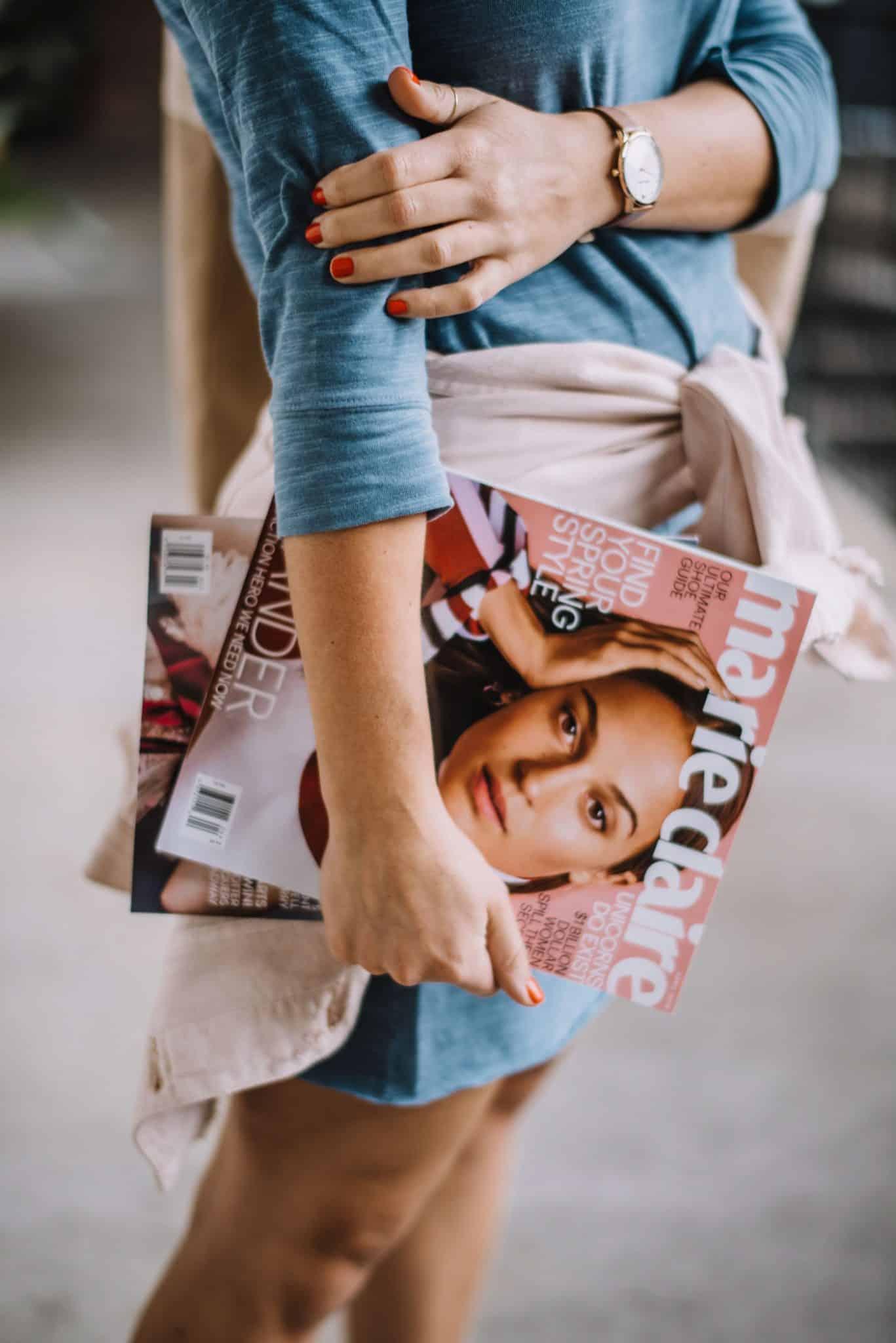 magazines, carrying magazines, fashion, streetstyle - My Style Vita