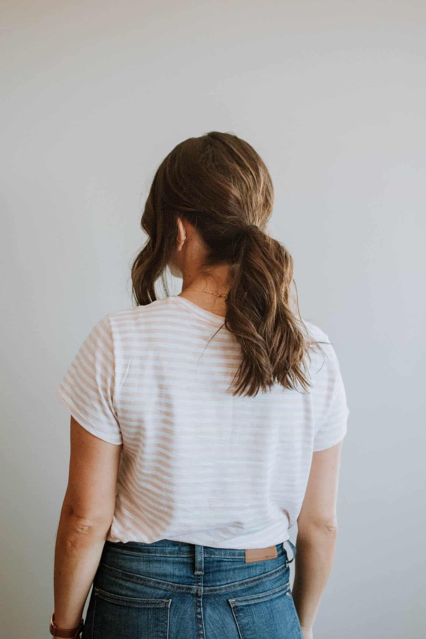 An Easy Low Ponytail Hairstyle For Any Occassion - My Style Vita