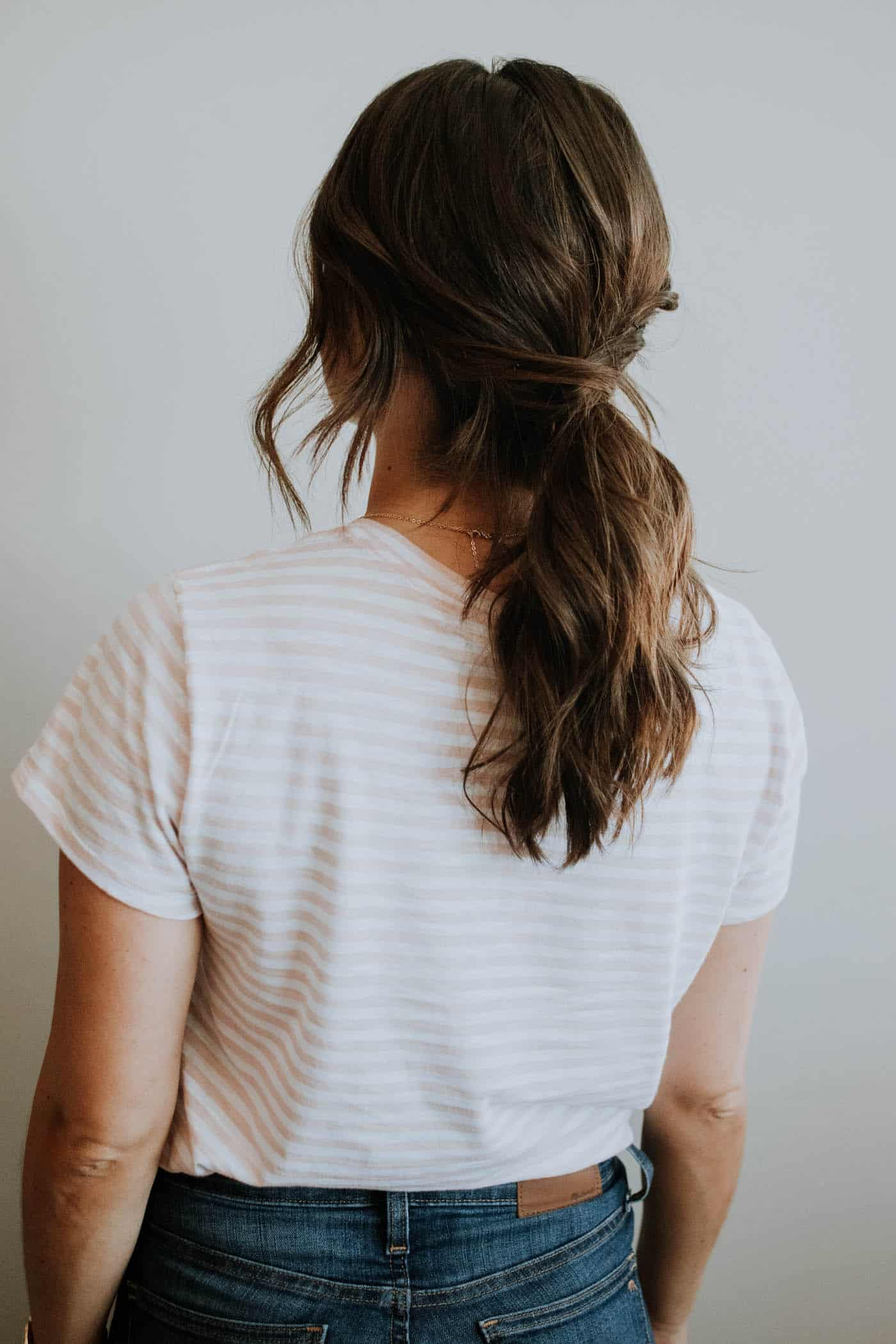 An Easy Low Ponytail Hairstyle For Any Occassion My Style Vita