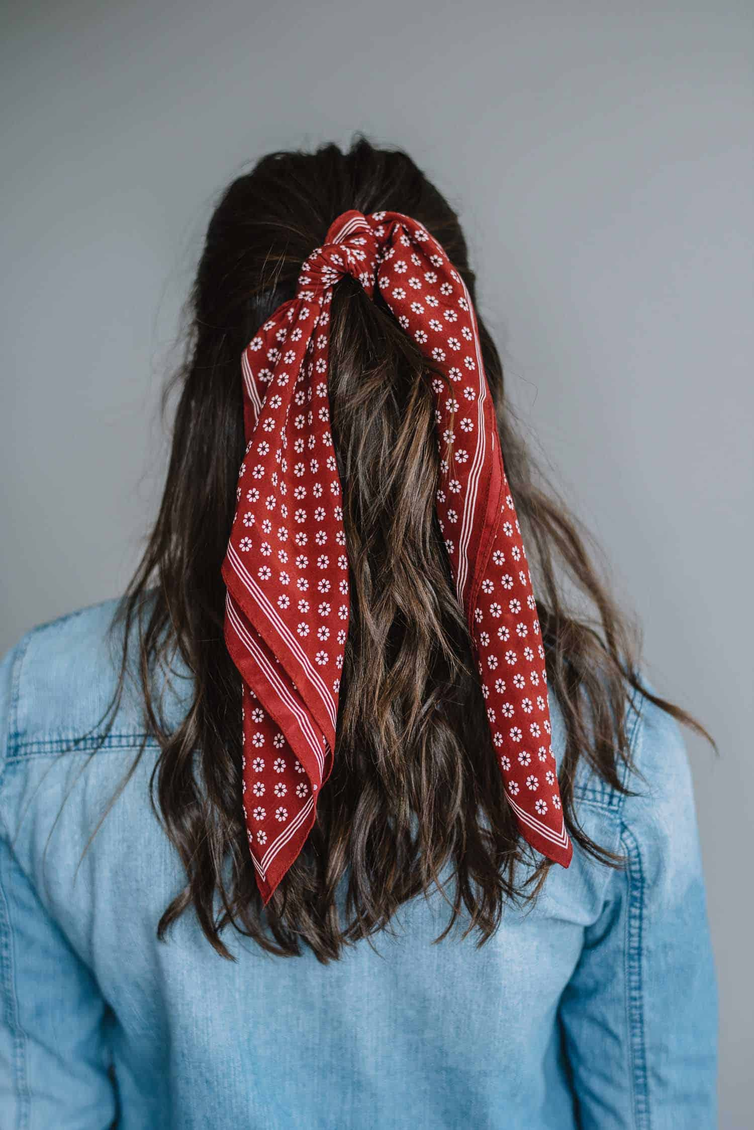 New Ways To Wear A Bandana In Your Hair  - My Style Vita