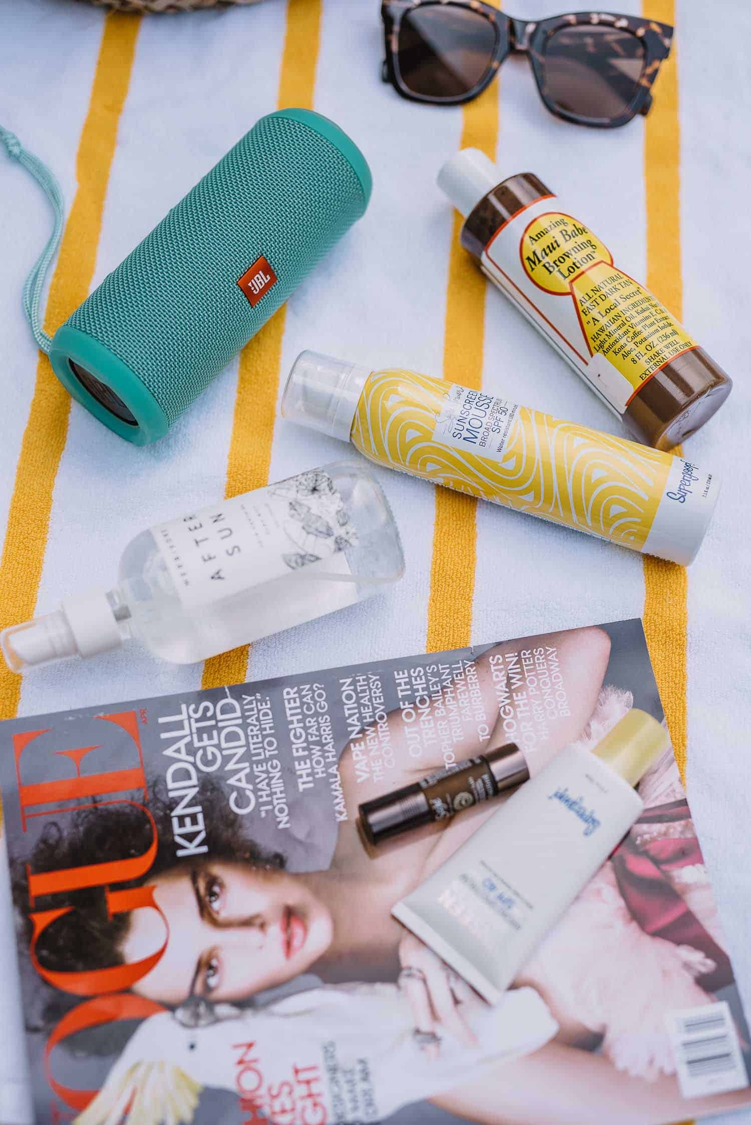products for the beach, what to pack in a beach bag - My Style Vita