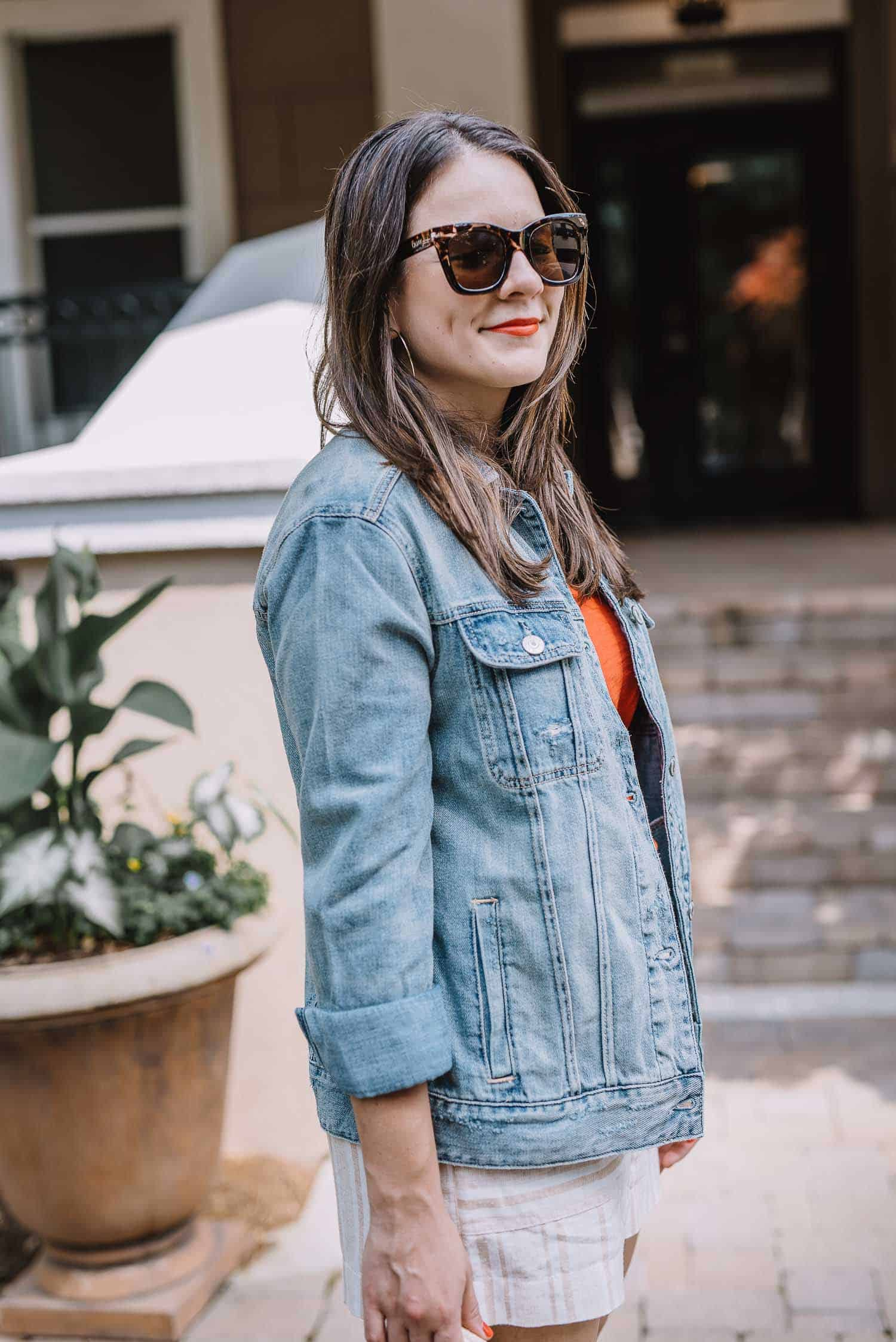 denim jacket, how to style a denim jacket - My Style Vita