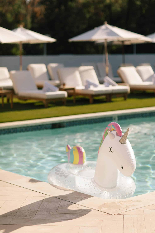unicorn pool float, lululemon The Immersion, best yoga retreats - My Style Vita