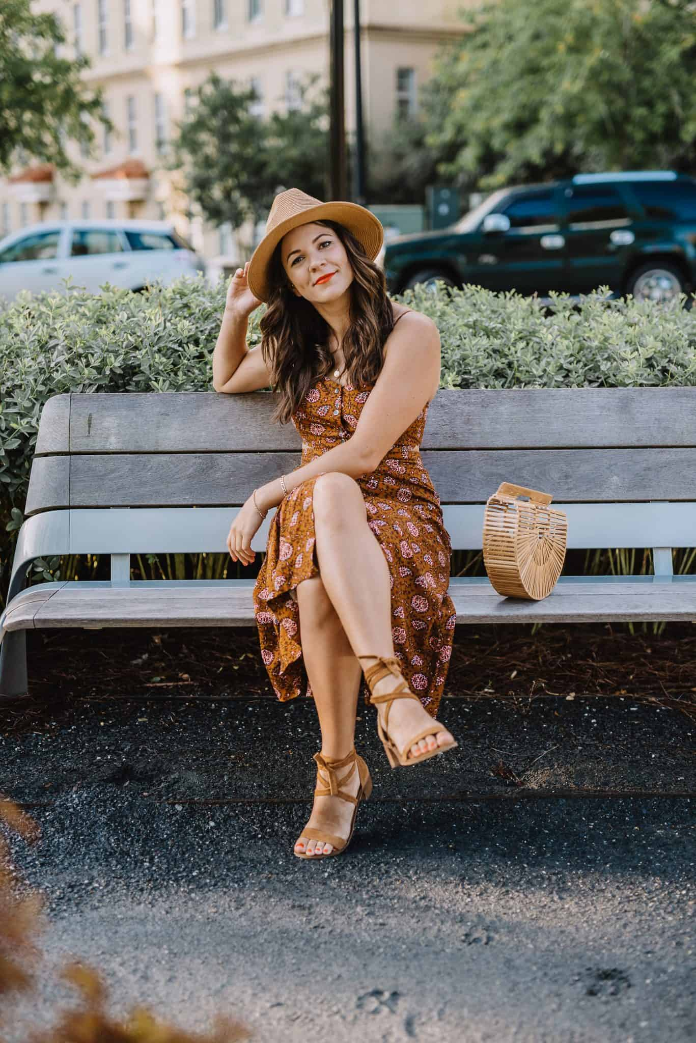 midi dress, summer outfit ideas - My Style Vita