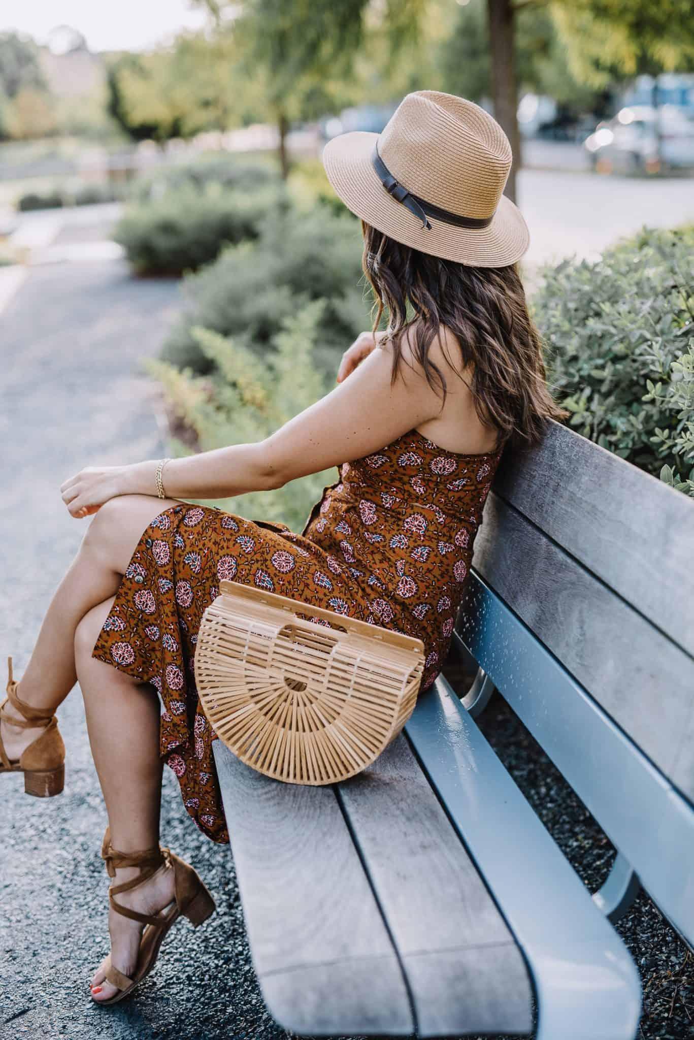 midi dress, summer outfit ideas - My Style Vita