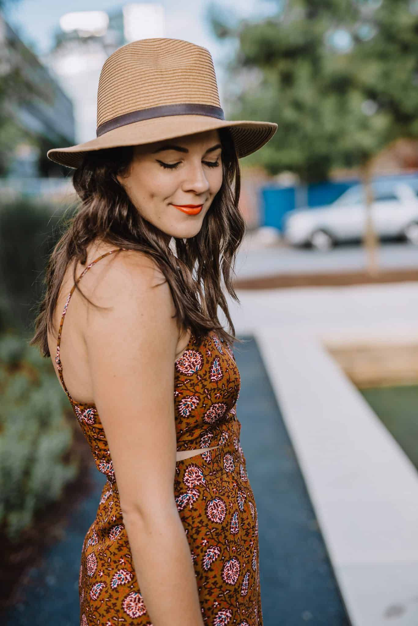 midi dress, summer outfit ideas, Madewell cutout midi dress - My Style Vita