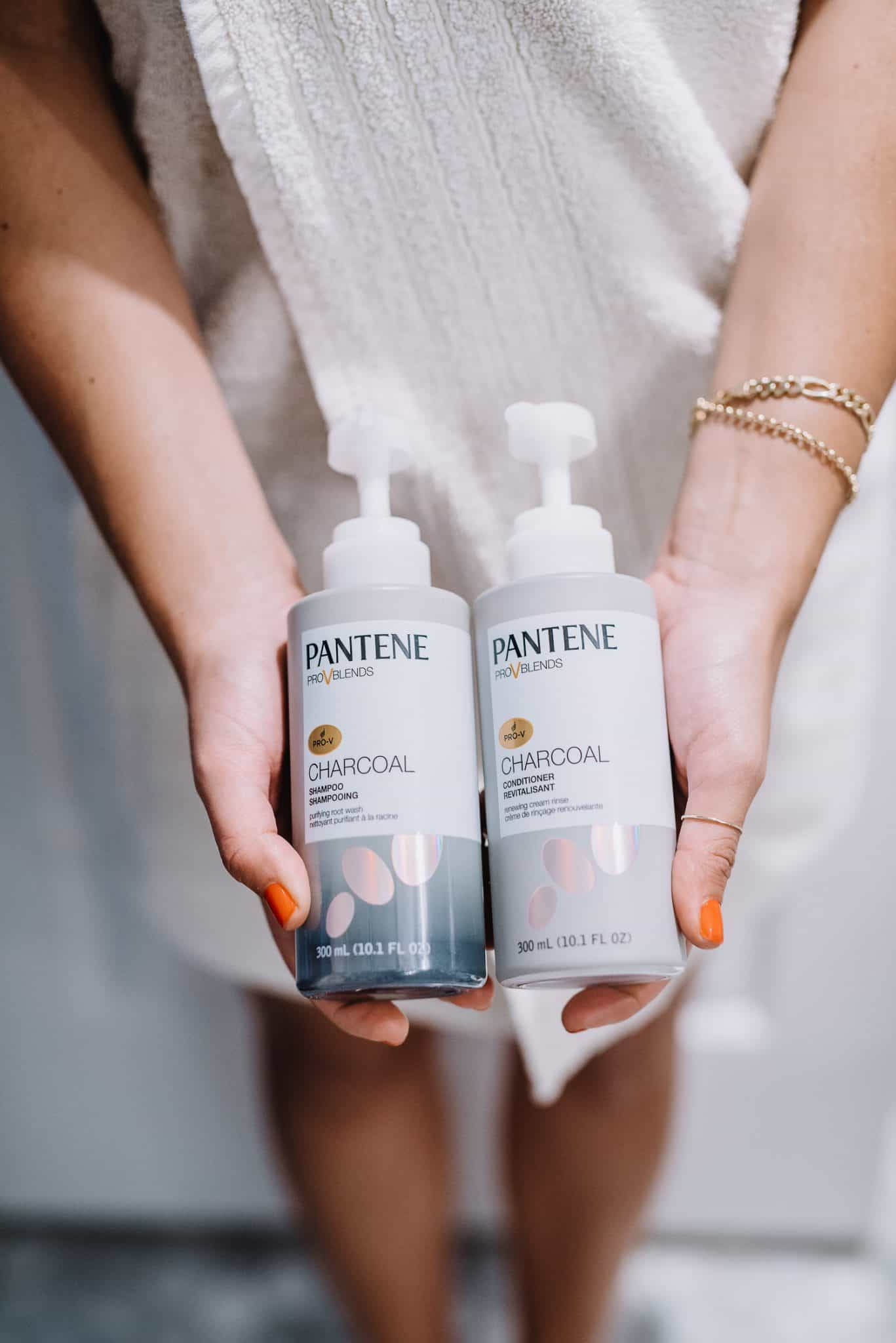 Pantene Charcoal Shampoo and Conditioner Review