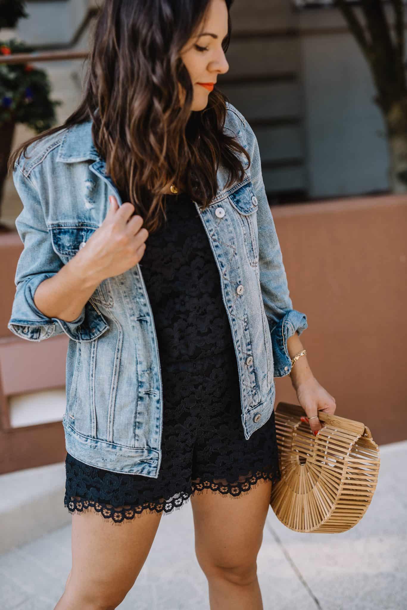 abercrombie girlfriend denim jacket