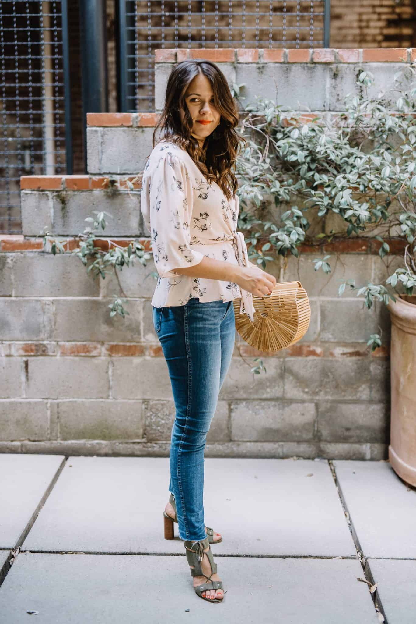 My Style Vita wears a fall outfit from the Nordstrom Anniversary Sale