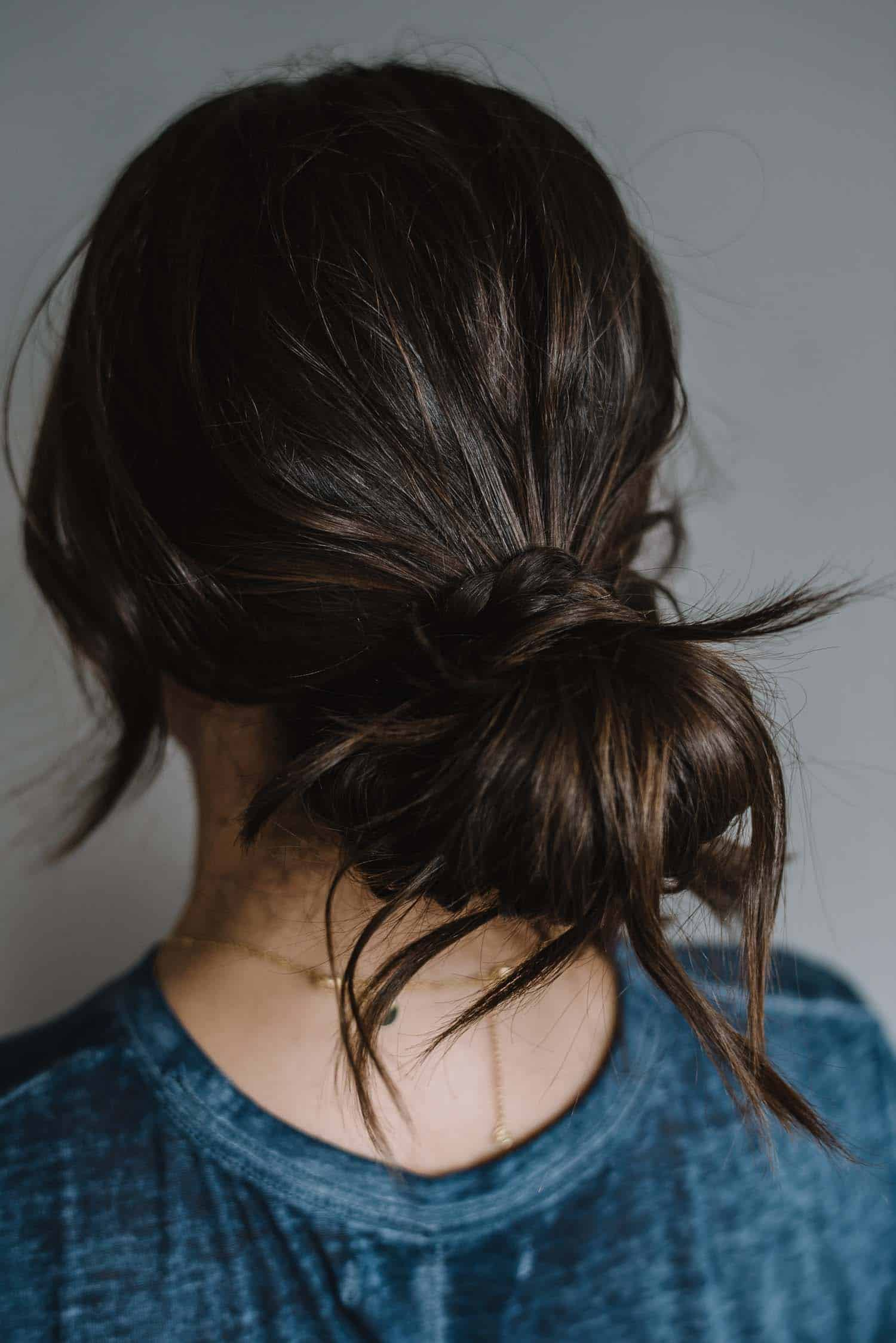 A No Heat Hairstyle For Day or Night - Step Three