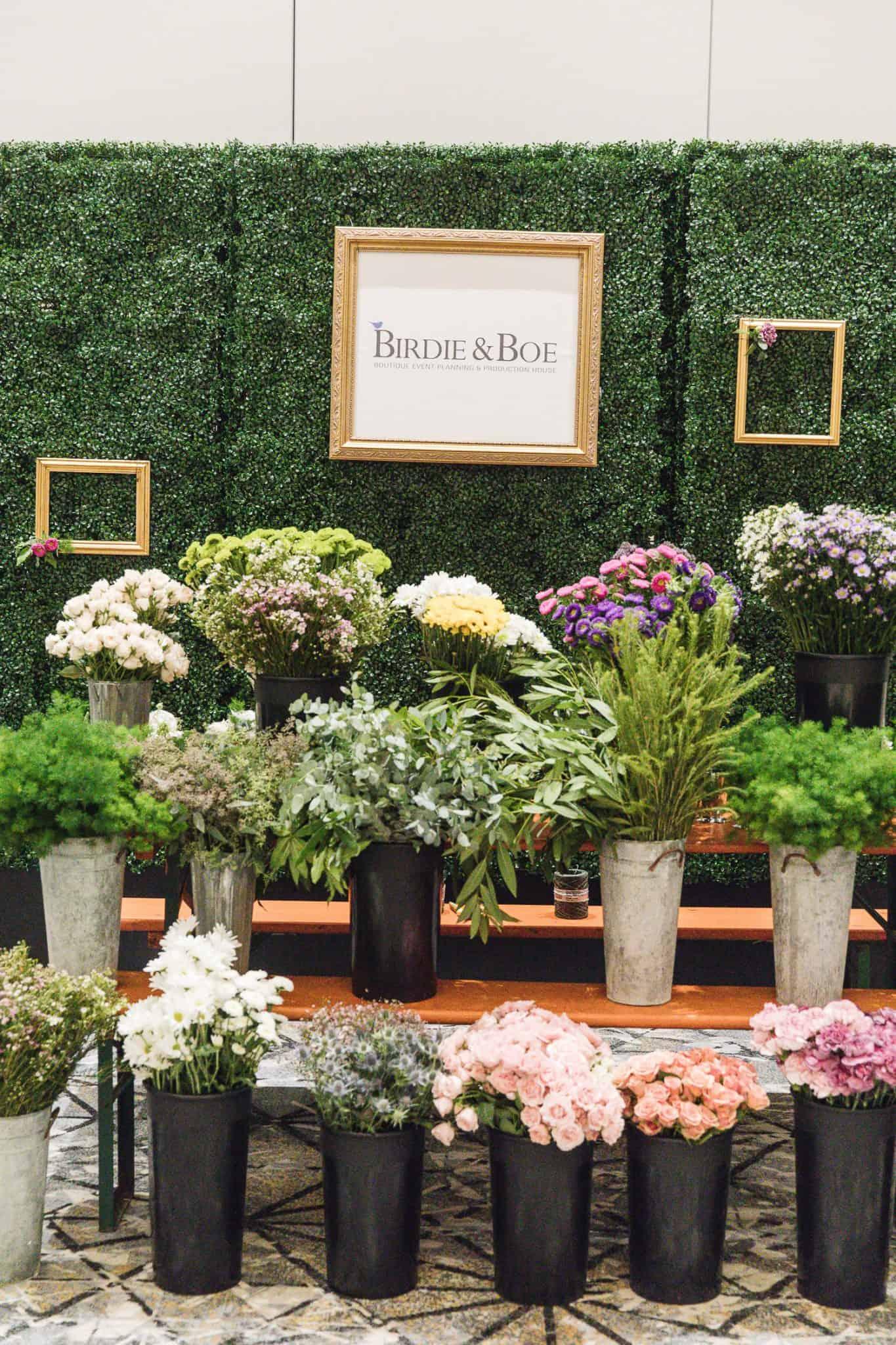 flower market party idea, flower crown class ideas - My Style Vita