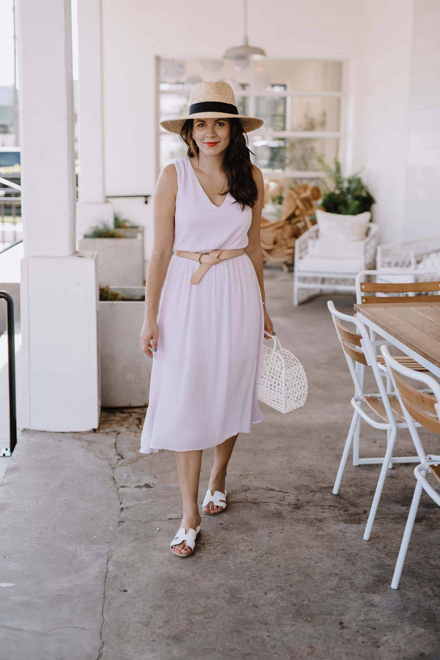 The Perfect Lilac Midi Dress For Summer - My Style Vita