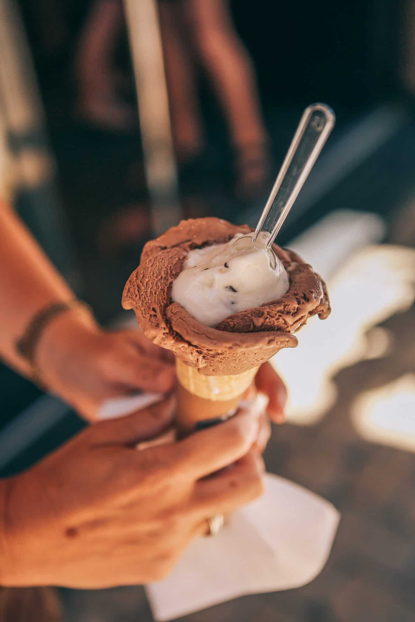 gelato in south of france, travel tips for south of france - My Style Vita