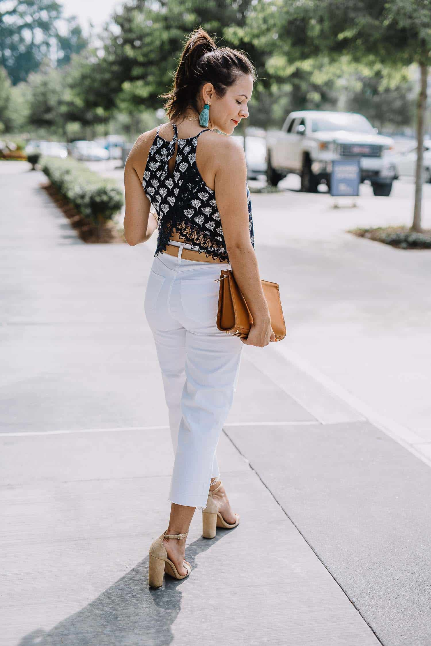 white culottes for summer