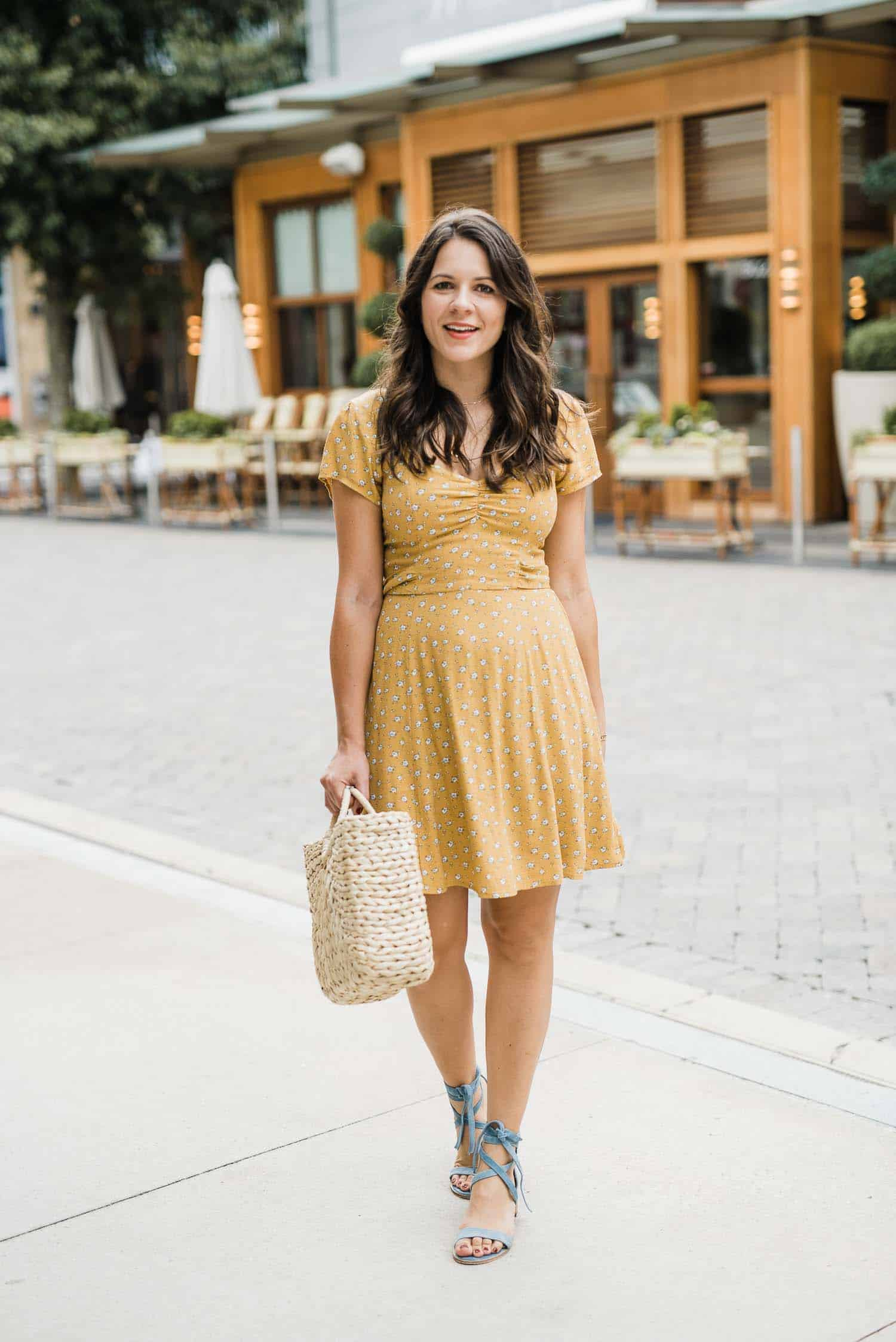 Abercrombie dress, how to take your summer dresses into fall - My Style Vita