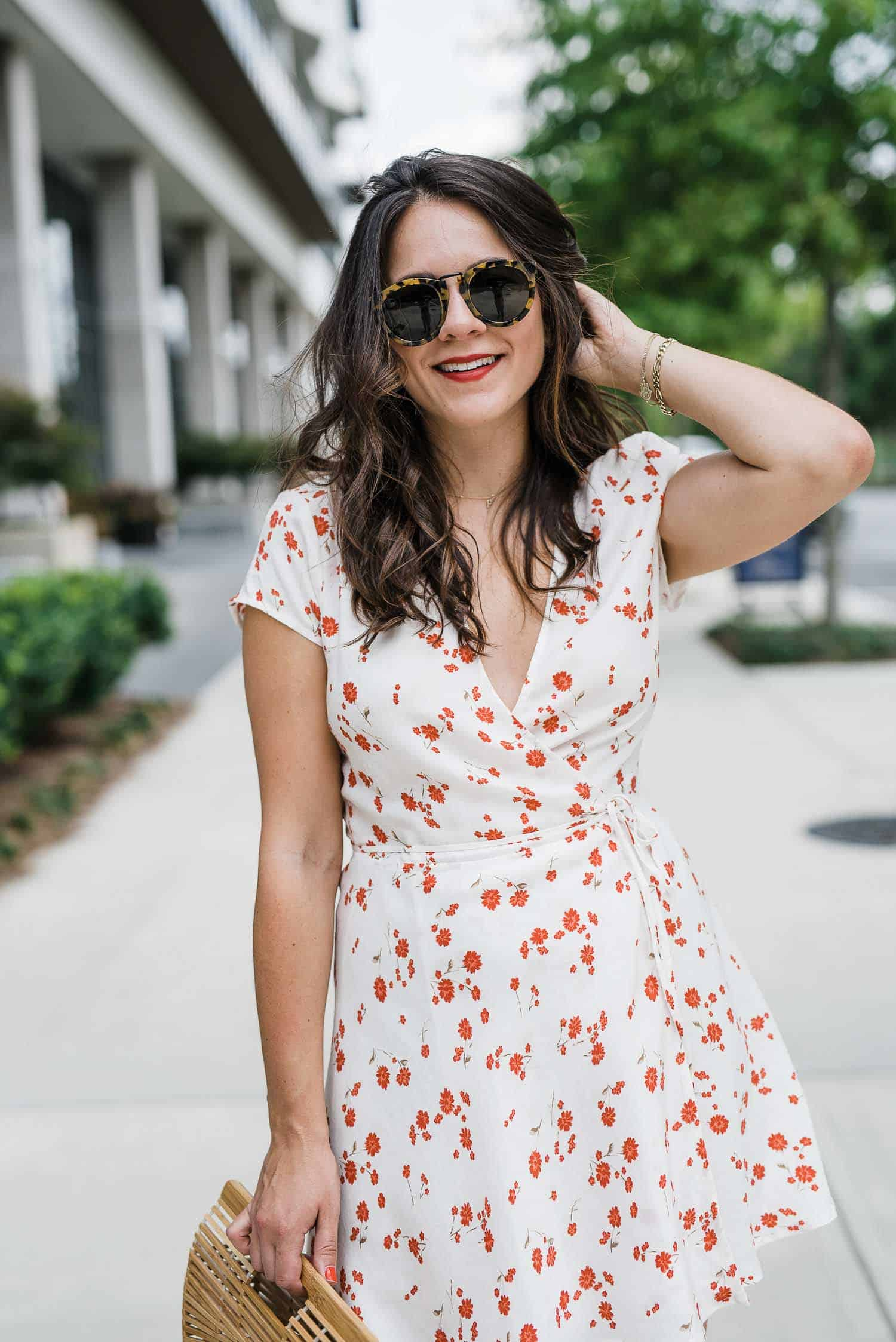 wrap dress for summer