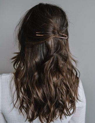 rose gold hair pin